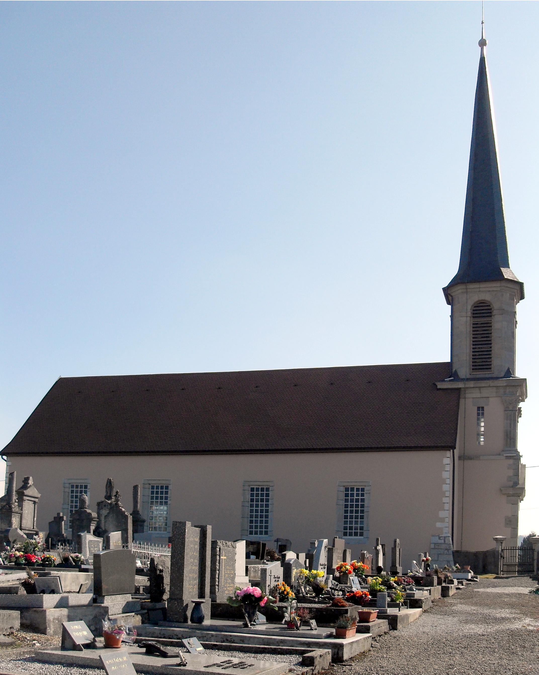 Fichier Dampierre les Bois, Temple protestant 2 jpg u2014 Wikipédia # Dampierre Les Bois