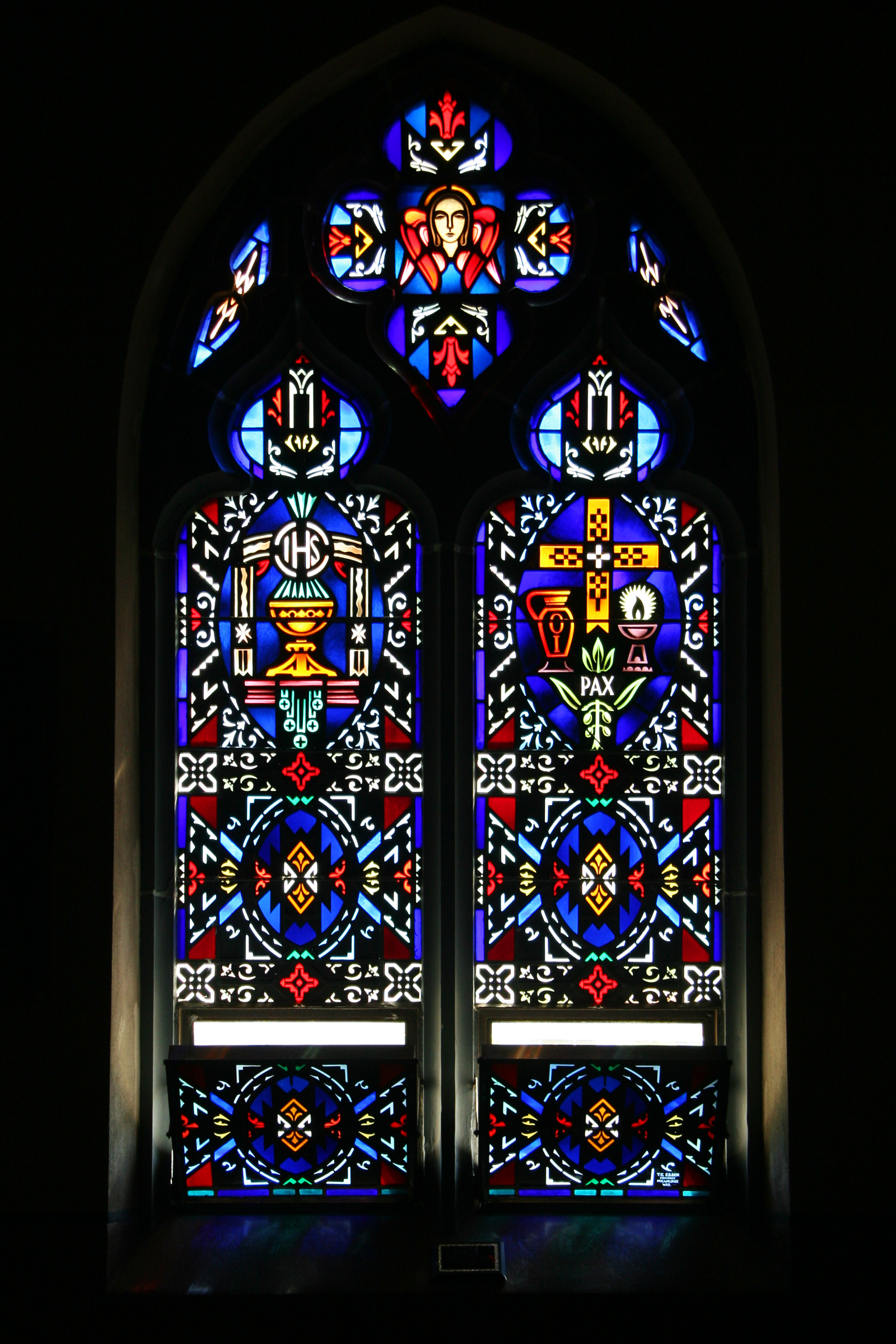 File Dunnington Indiana Stained Glass Png Wikimedia Commons