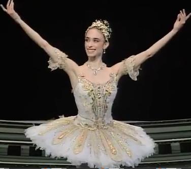 Viviana Durante as Aurora in Sleeping Beauty (1994)
