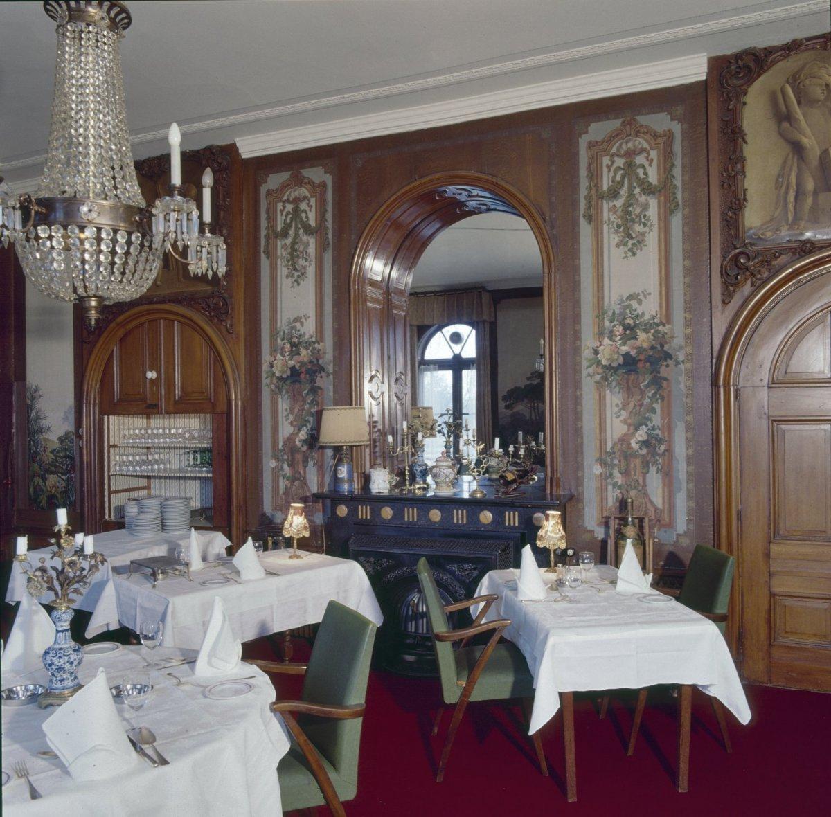 Foto Op Wand.File Eetkamer Geschilderd Landschap Op Wand Leusden 20356309