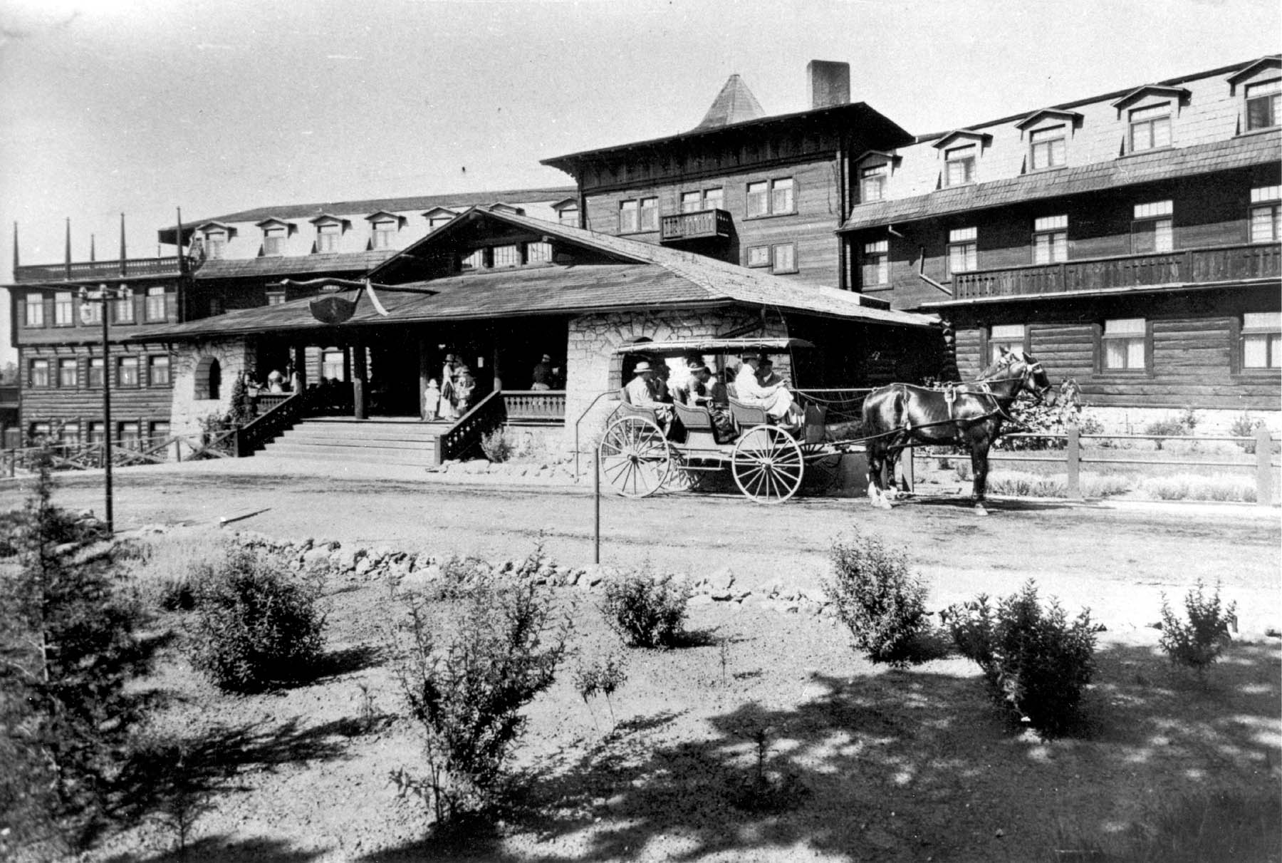 File El Tovar Hotel In Early 1900s Jpg