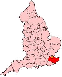 ケント県の県域