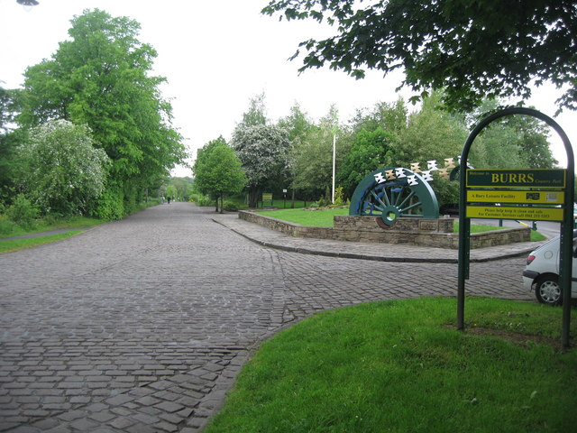 Entrance to Burrs Country Park - geograph.org.uk - 432881