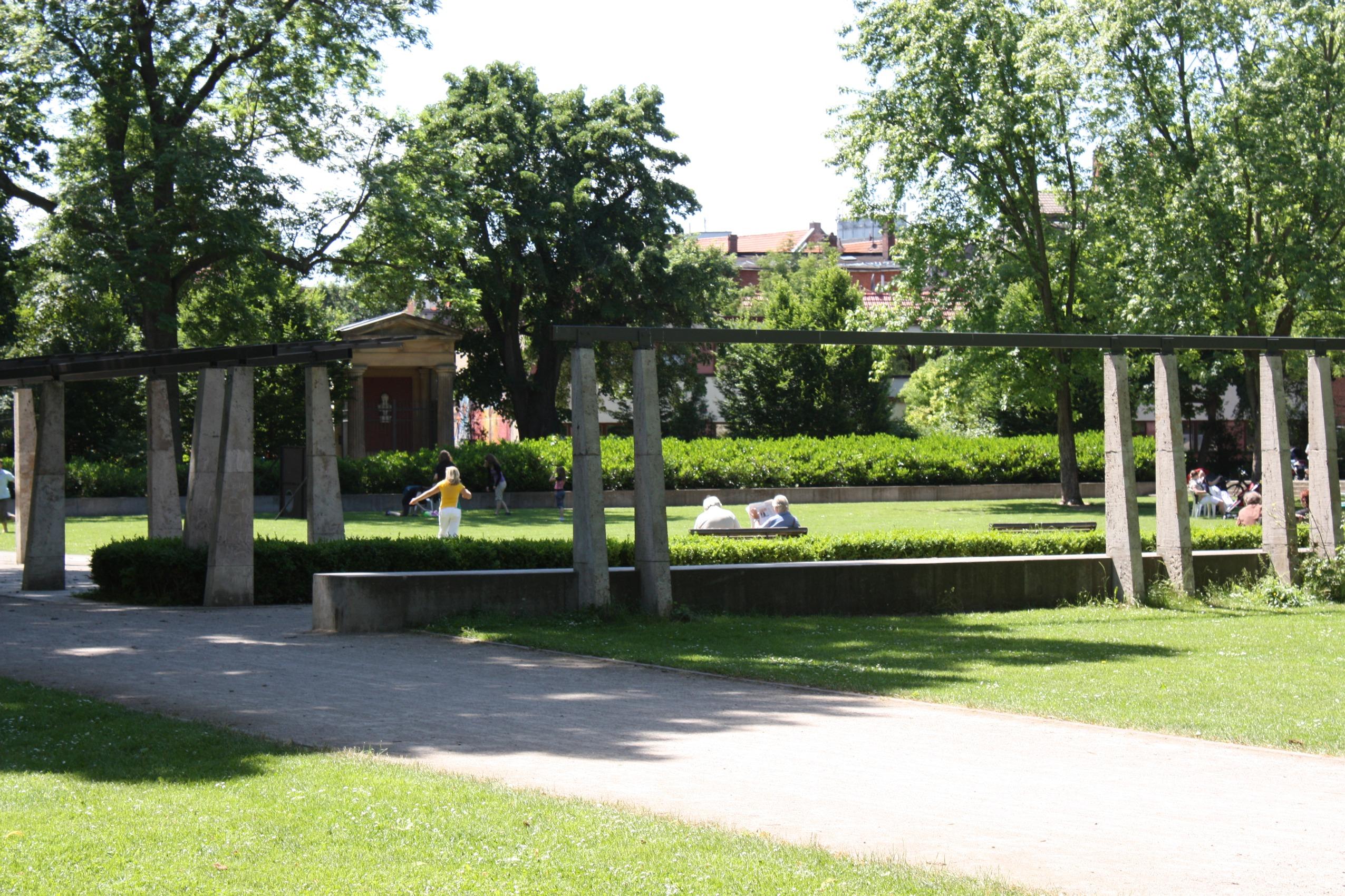 File erfurt der br hler wikimedia commons for Garten in erfurt
