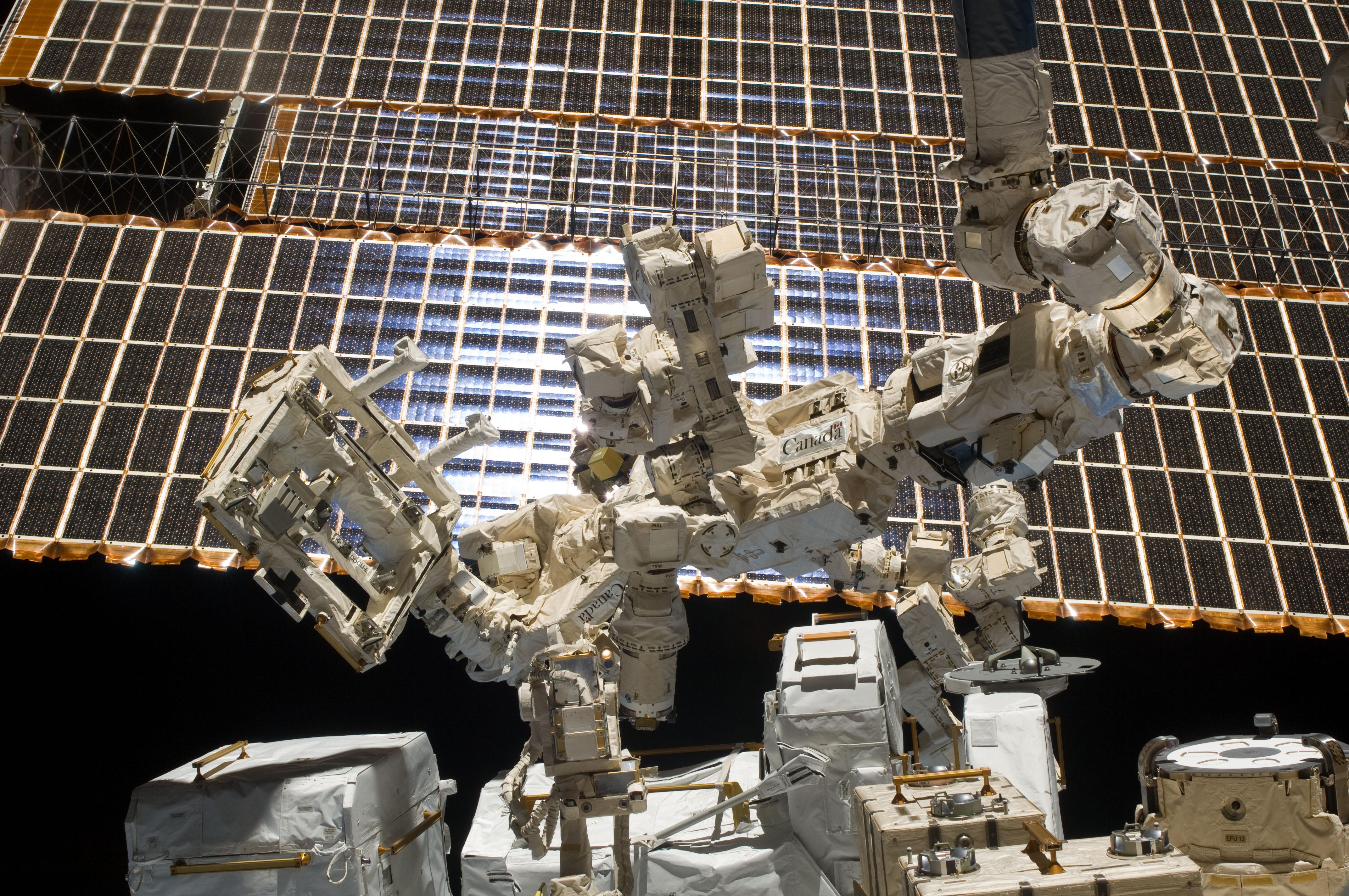 Resultado de imagen de robot espacial dextre