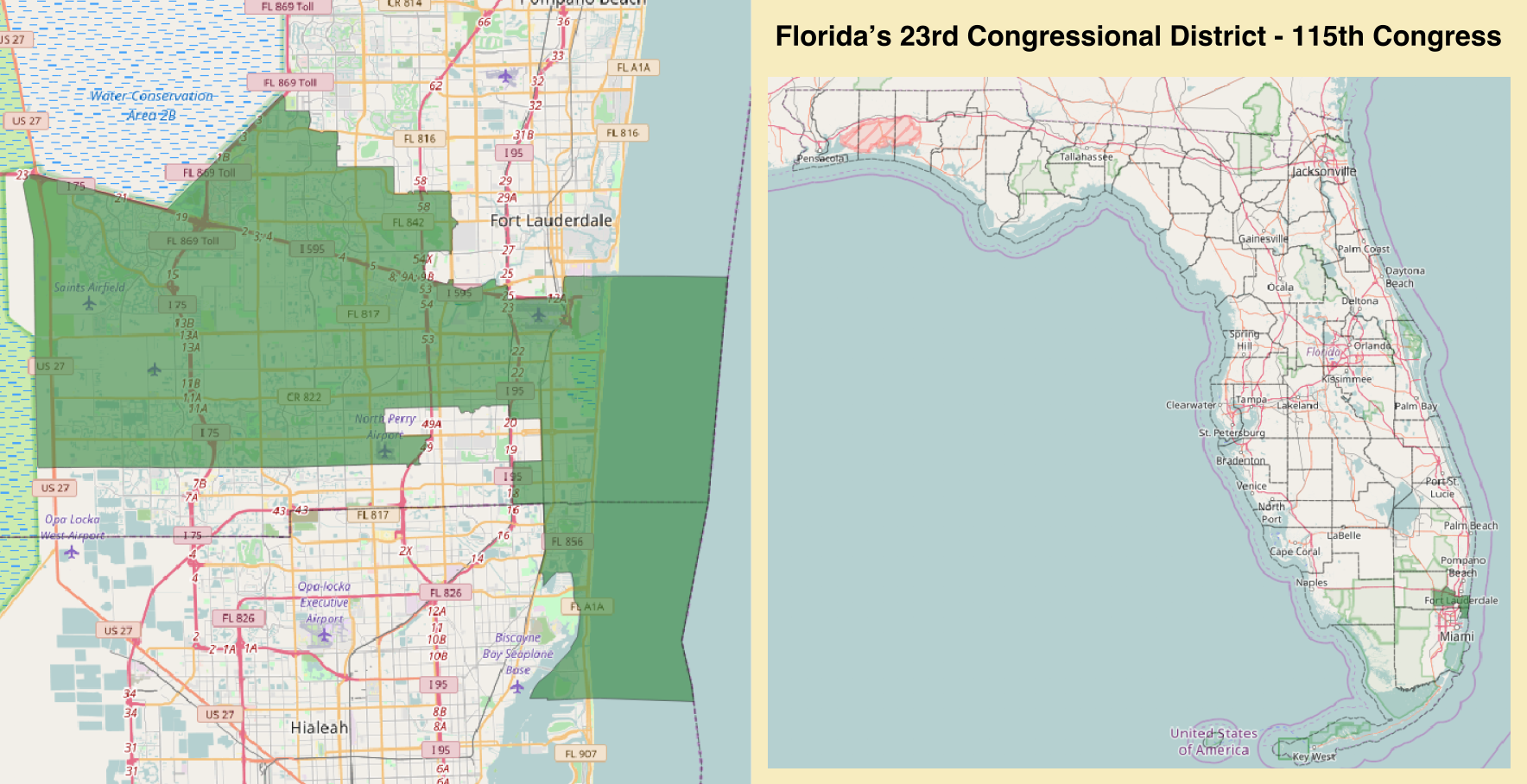 Floridas 23rd Congressional District Wikipedia