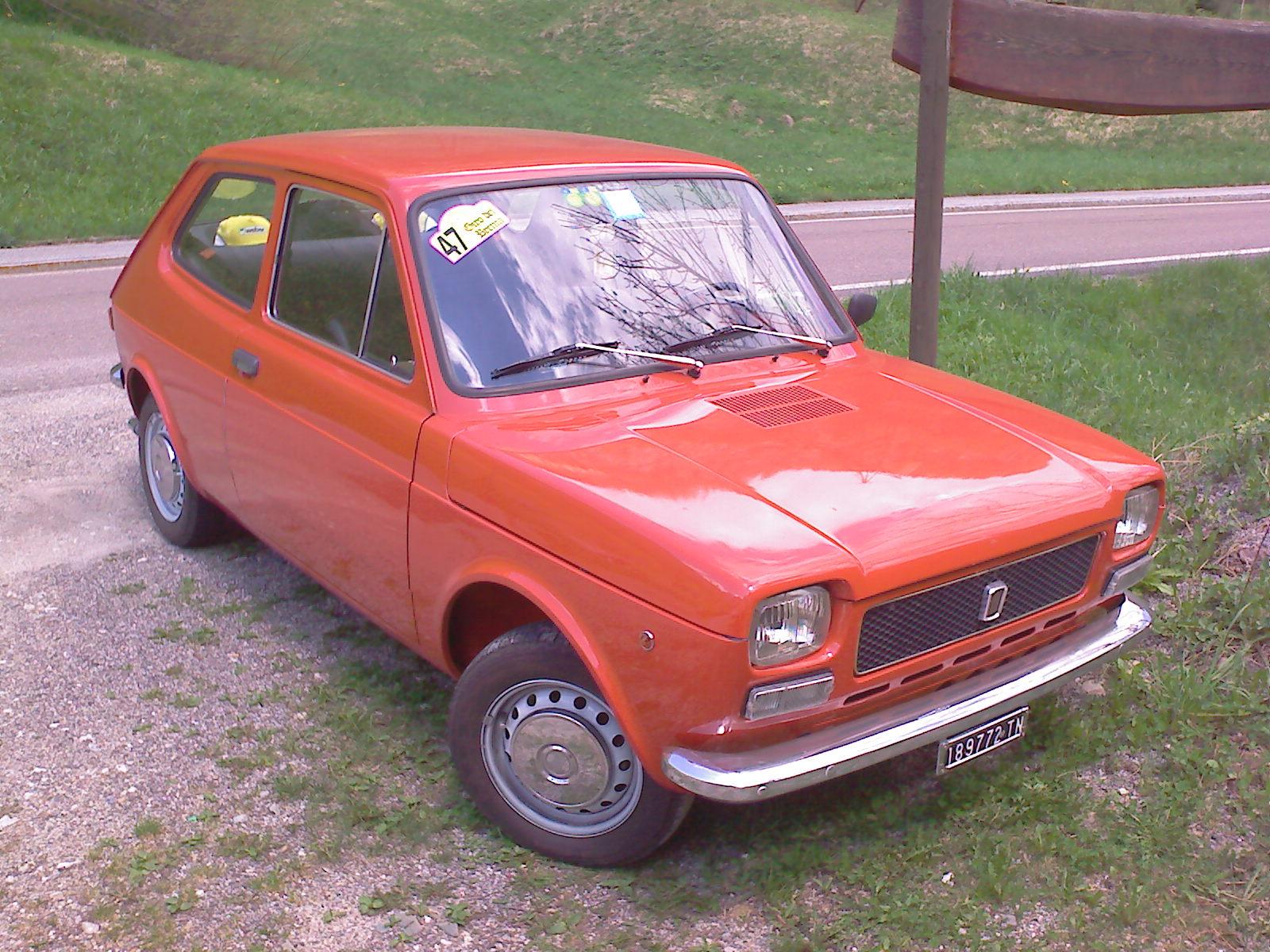 Fiat 127 Wikipedia Wiring Diagram For 1973 850 Spyder
