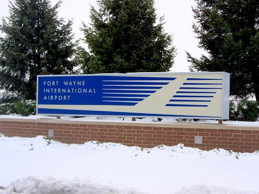Fort Wayne International Airport Entrance