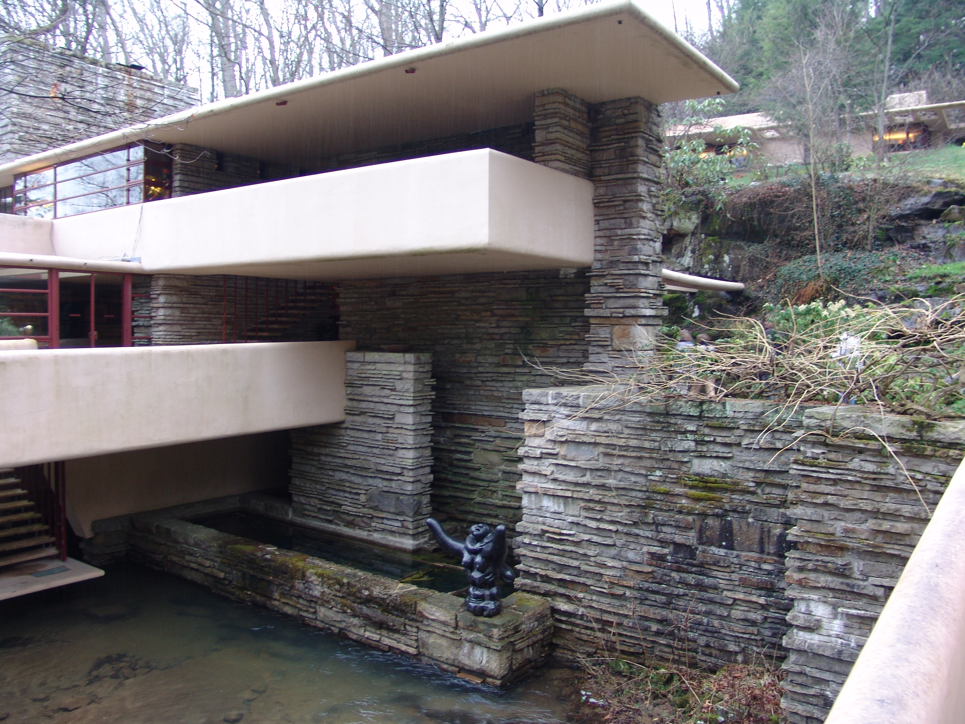 File Frank Lloyd Wright Fallingwater Exterior 4 Jpg