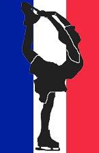 French figure skater pictogram