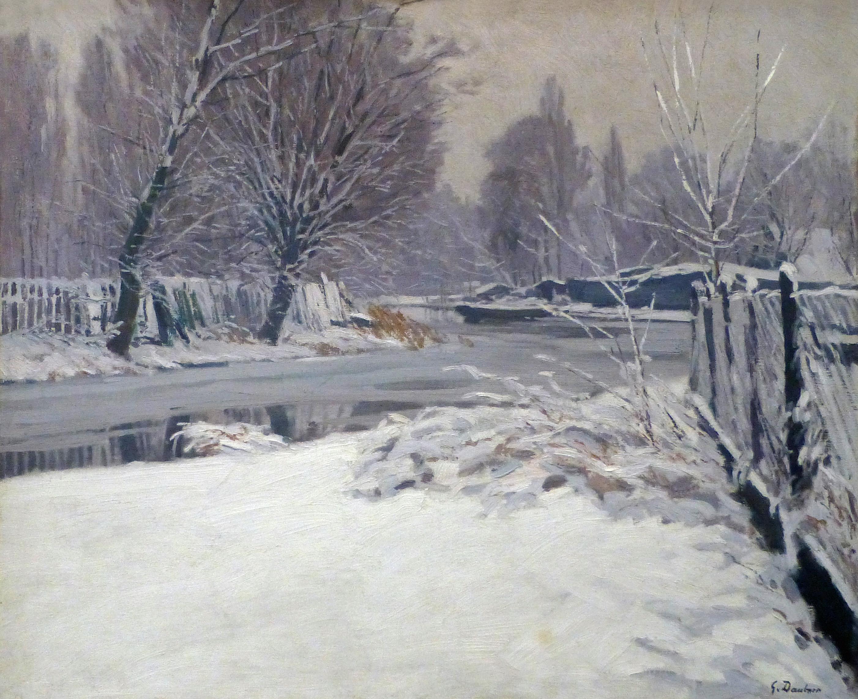 fichier georges daubner paysage d 39 hiver 1921 jpg wikip dia. Black Bedroom Furniture Sets. Home Design Ideas