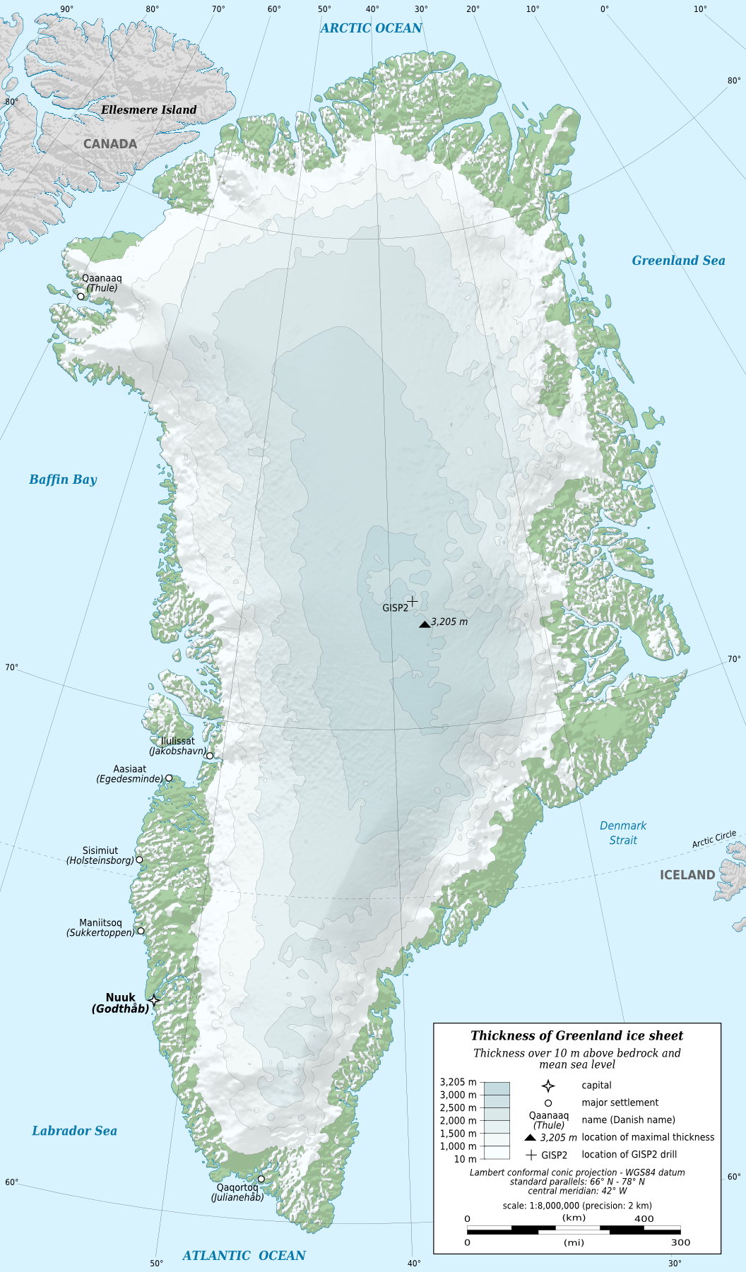Geography of Greenland  Wikipedia
