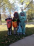Children trick or treating in Bridgeview, IL Halloween in Bridgeview, Illinois.jpg