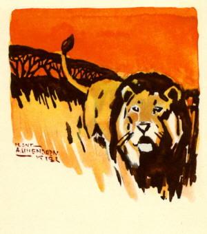 Archivo:Hans Anton Aschenborn Lion.JPG