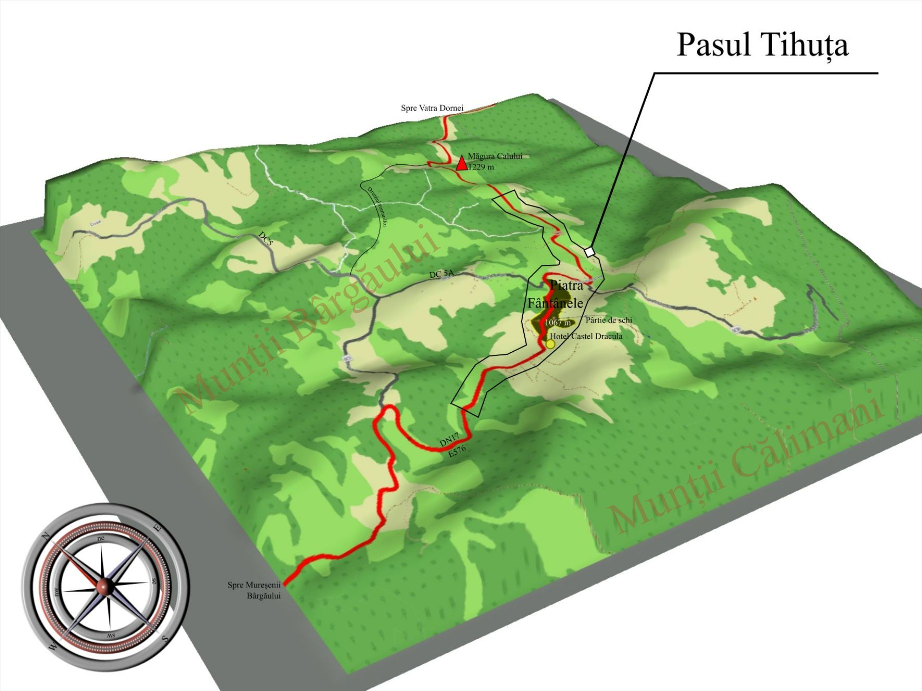 Pasul Tihuța Wikipedia