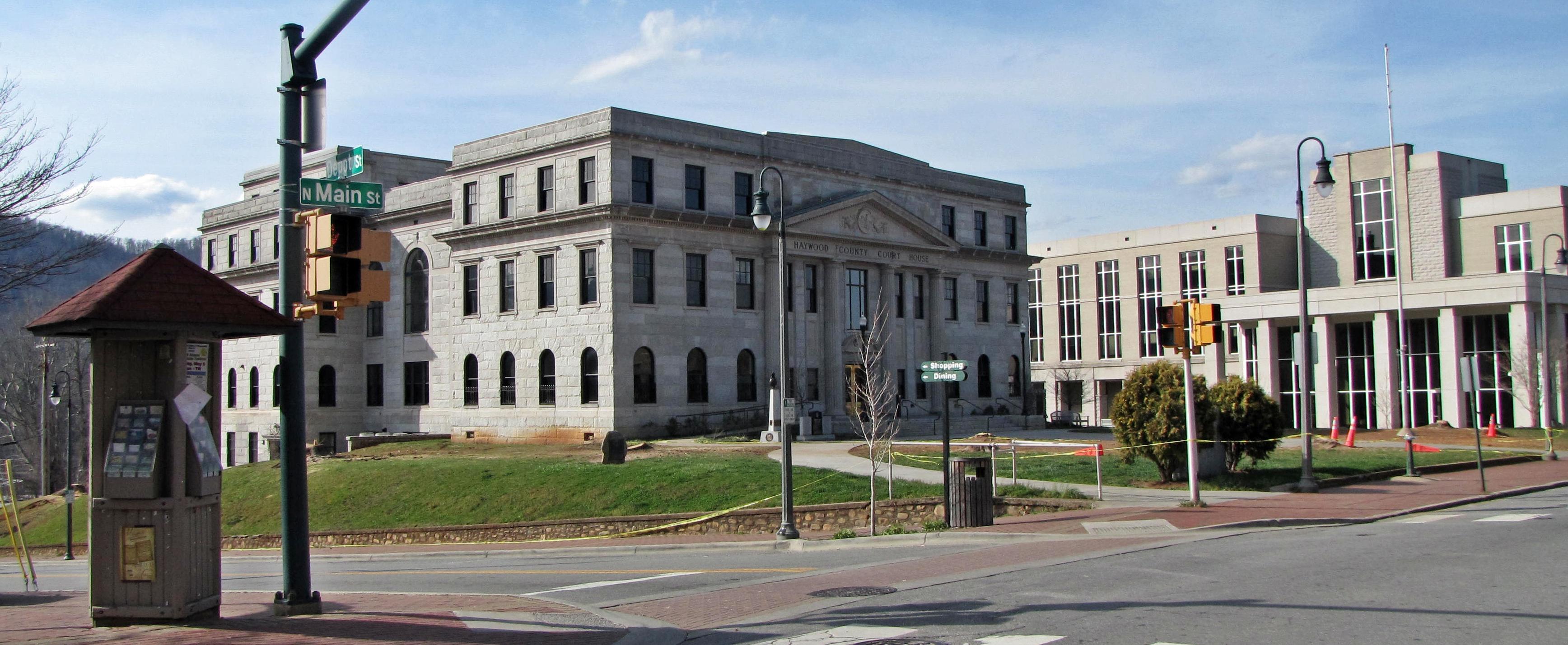 Haywood county courthouse waynesville north carolina jpg
