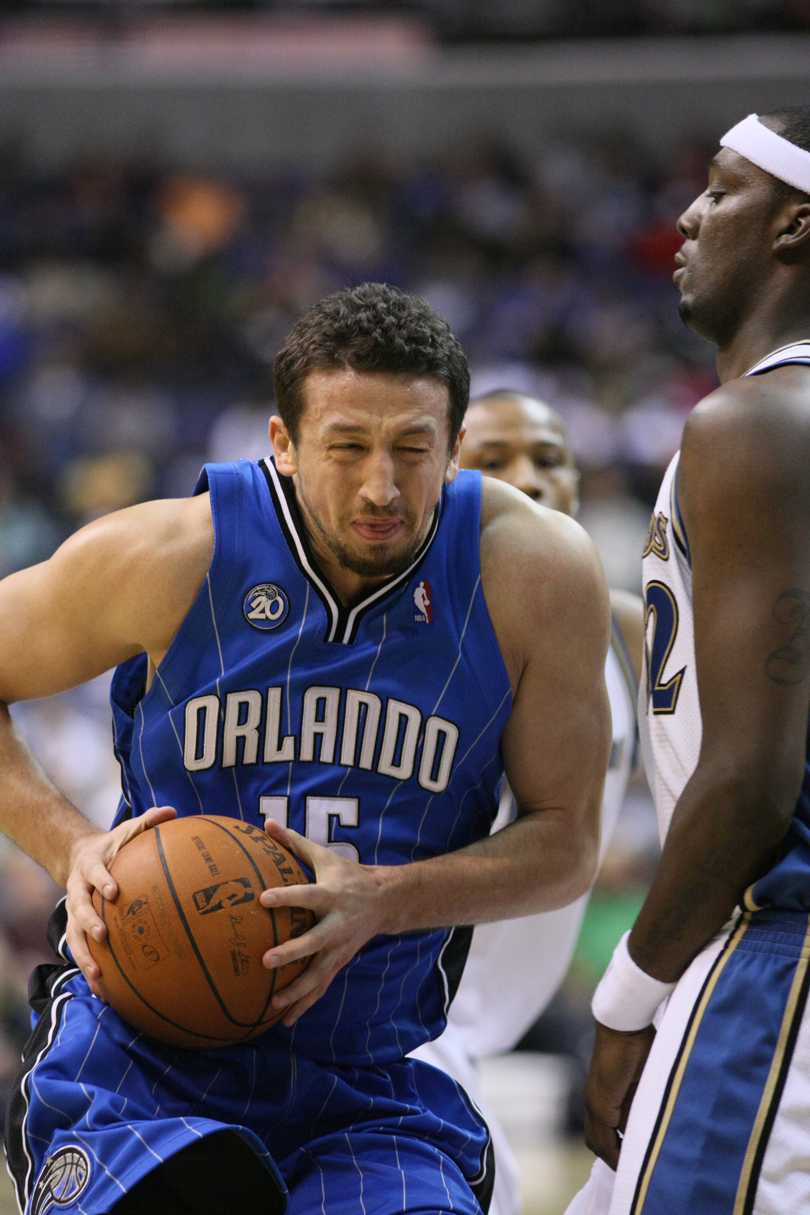 File Hedo Turkoglu at Ball Orlando Magic vs Washington Wizards