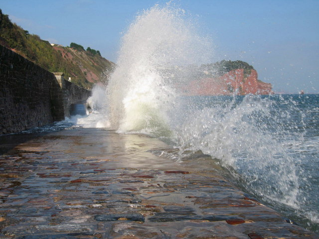 High Tide - geograph.org.uk - 578774