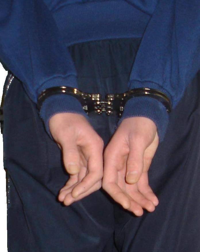 Hasil gambar untuk handcuffs on hands