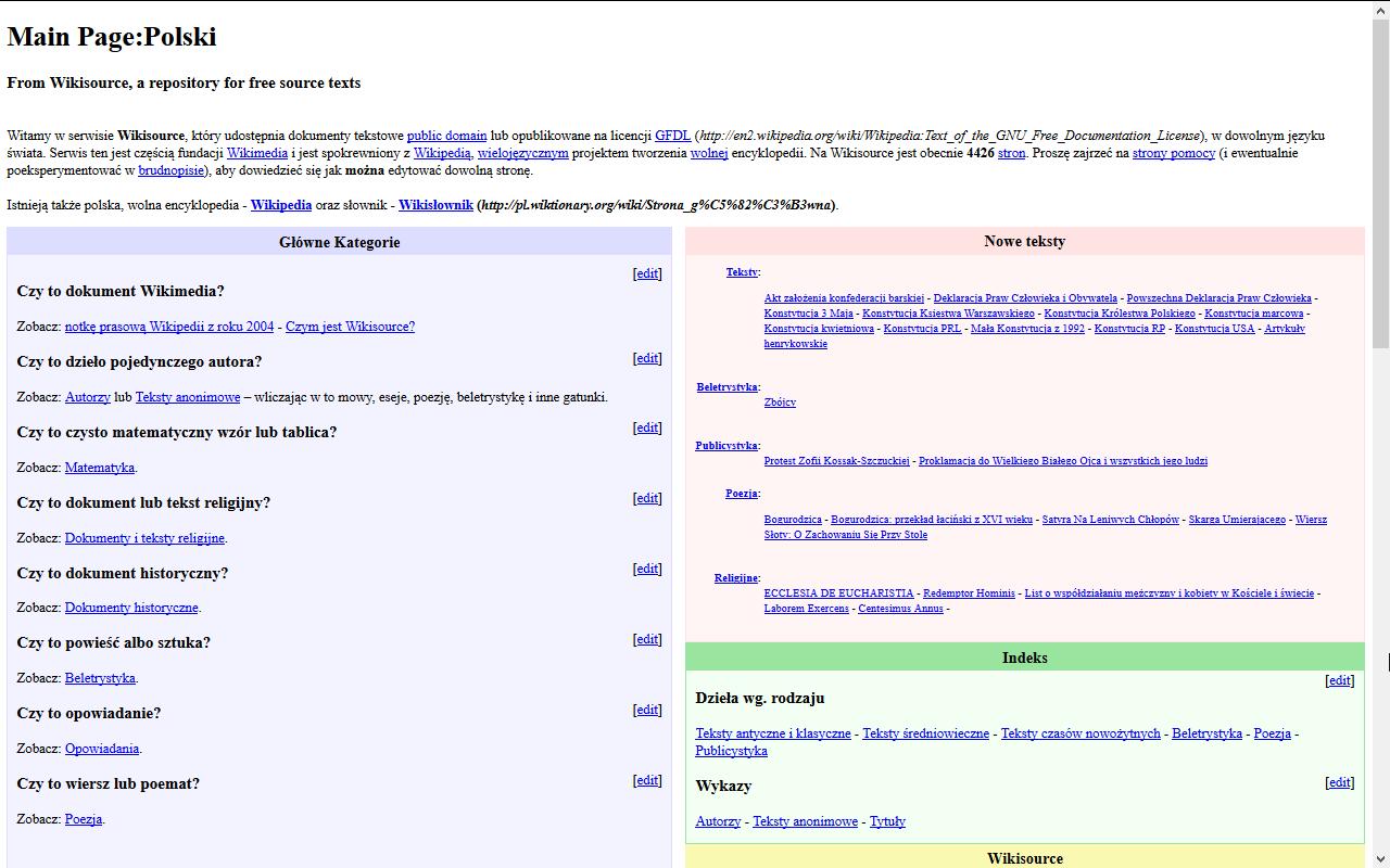 Filehistoria Wyglądu Wikiźródeł 2004png Wikimedia Commons