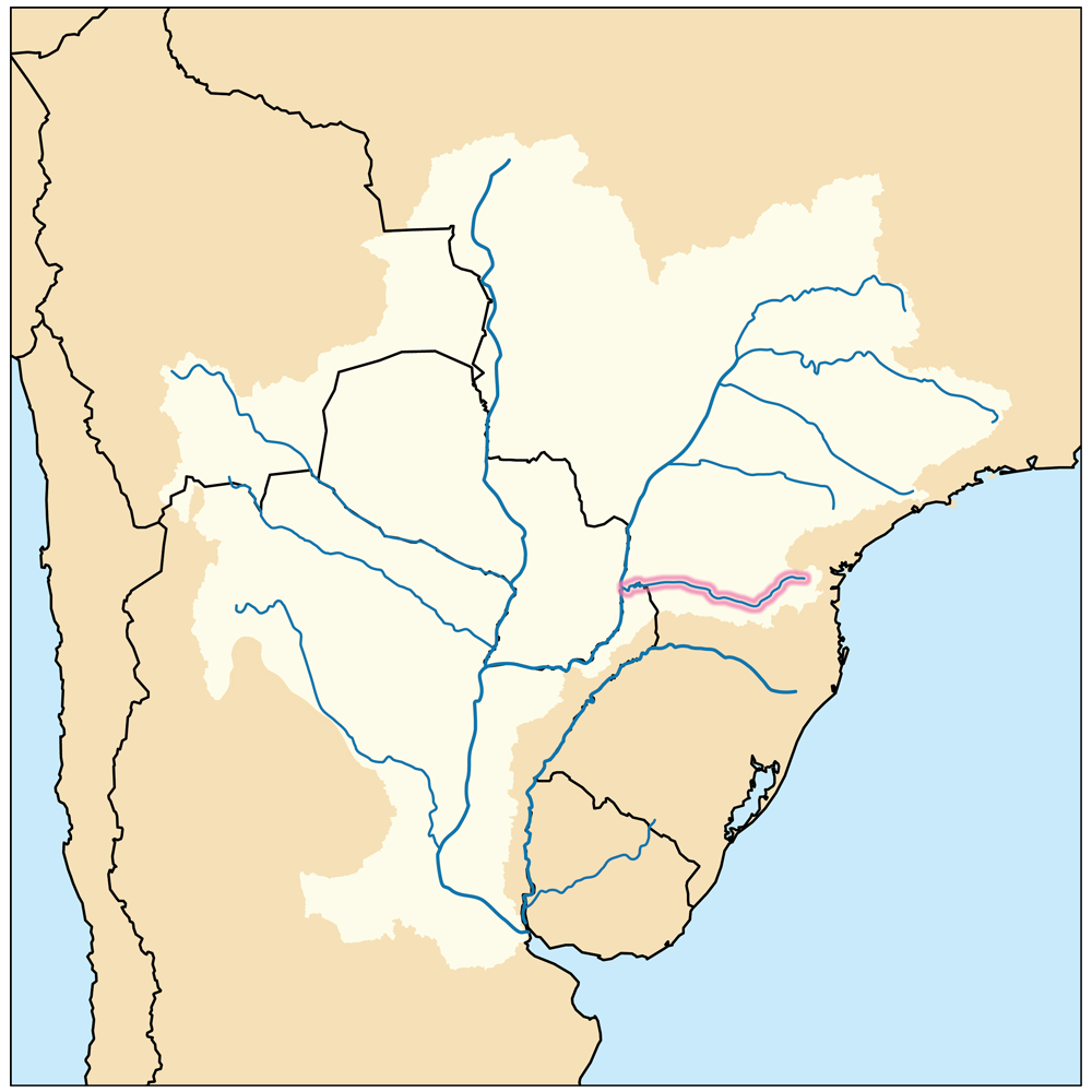 FileIguazurivermappng Wikimedia Commons - Parana river map