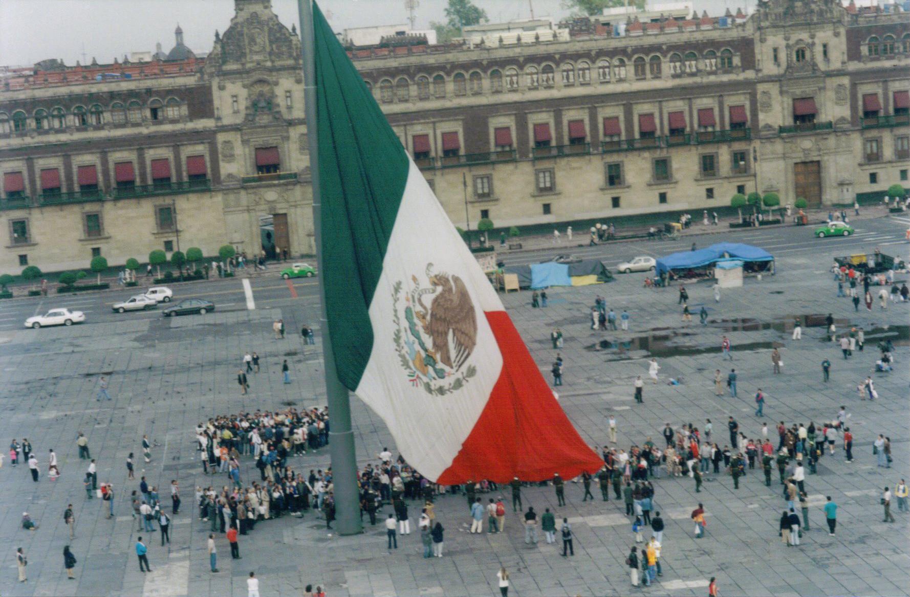 los estados de mexico tienen bandera