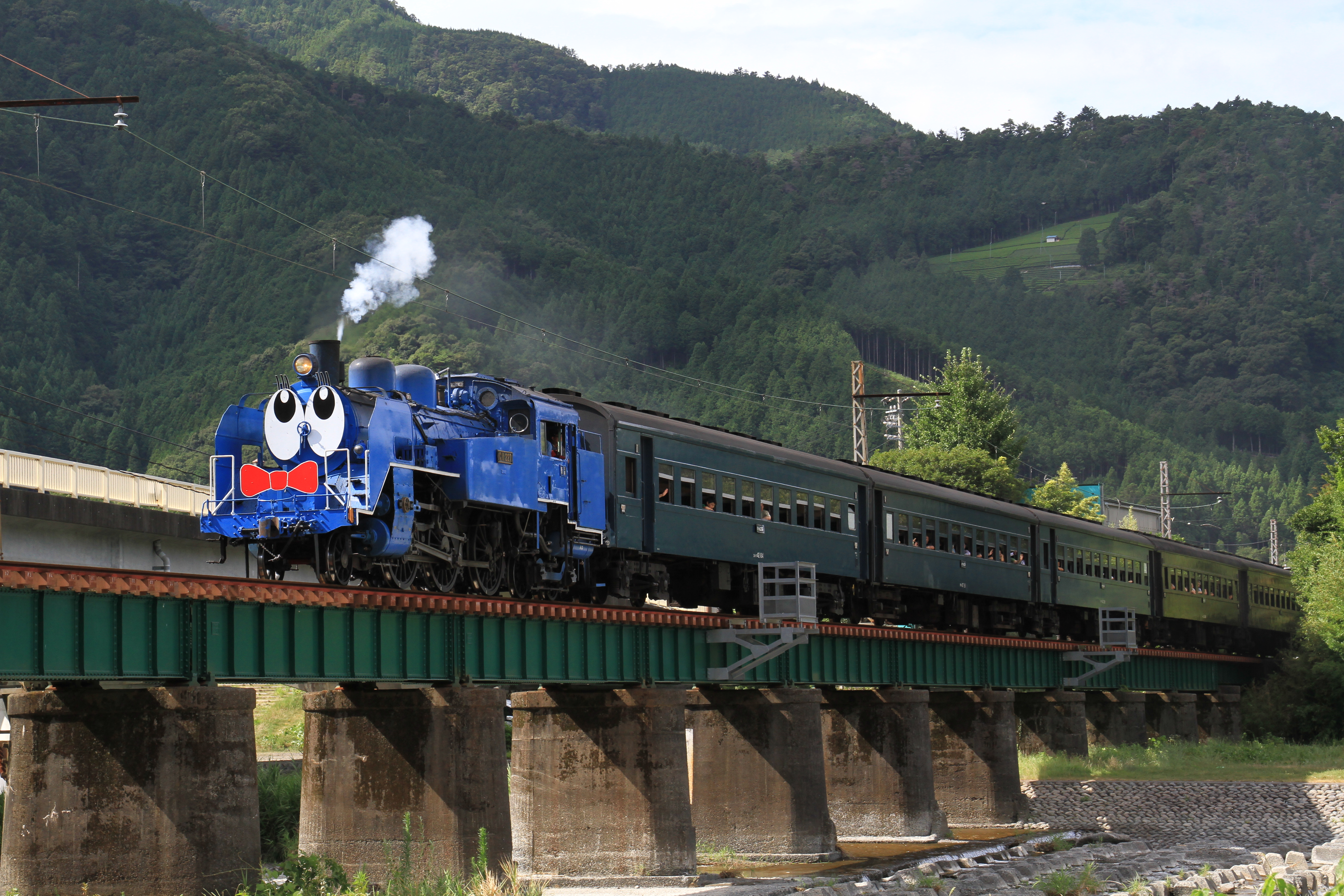 Real Life Thomas The Tank Engine In Japan Pics