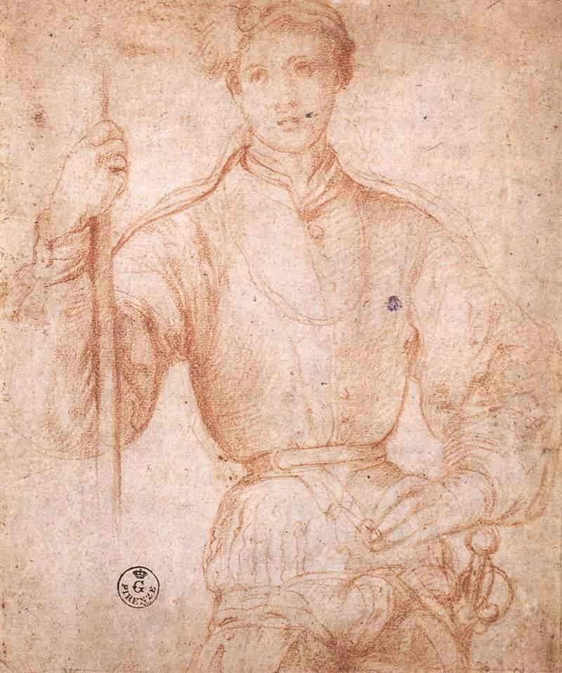 File:Jacopo Pontormo - Halberdier - WGA18130.jpg - Wikimedia Commons: commons.wikimedia.org/wiki/file:jacopo_pontormo_-_halberdier_...