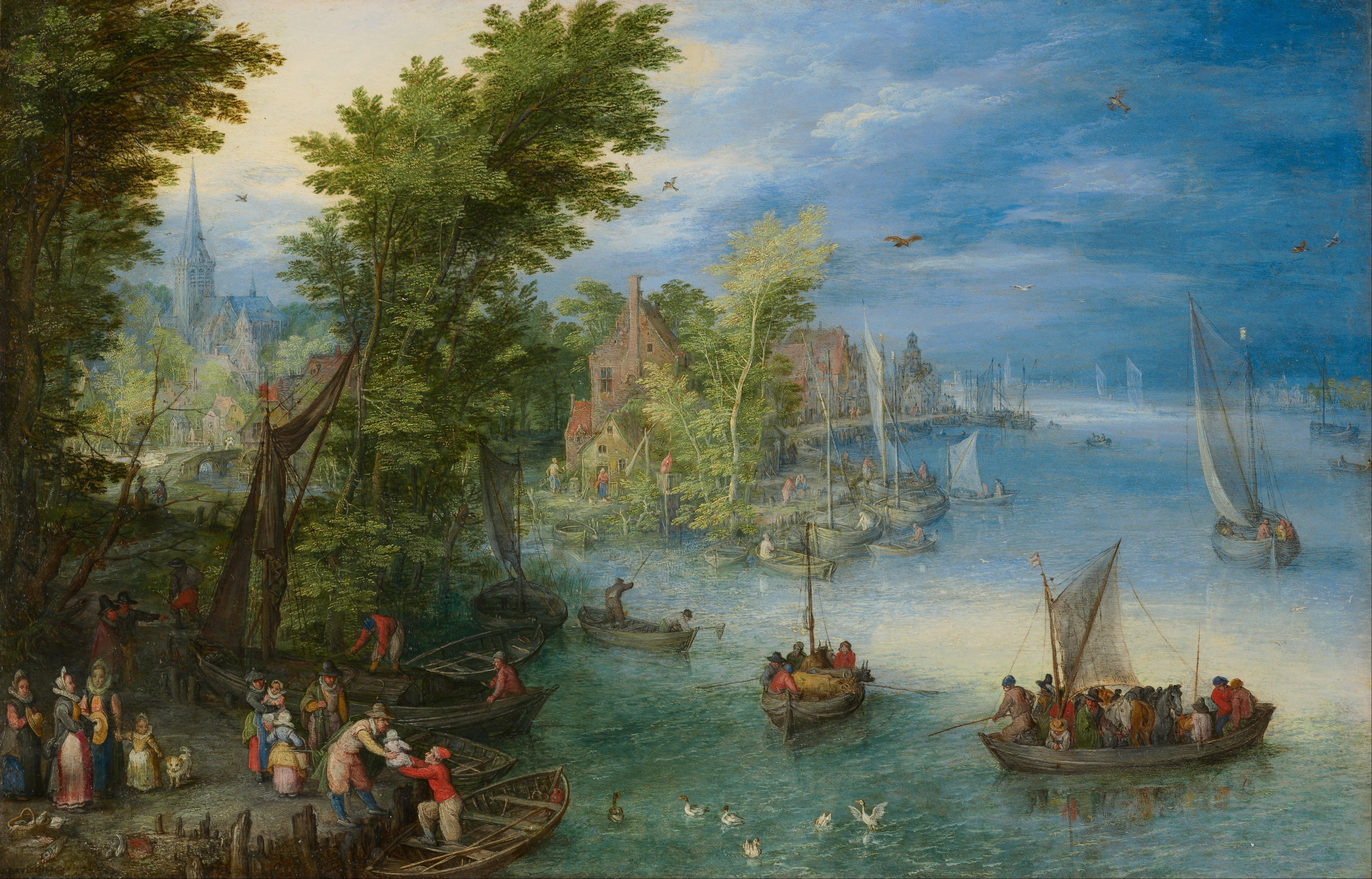 Famous Patinir Paintings