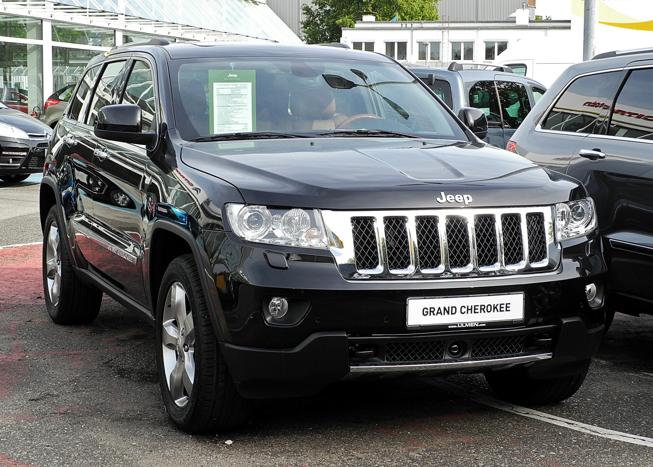 File Jeep Grand Cherokee 3 0 Crd Overland Wk Frontansicht 10