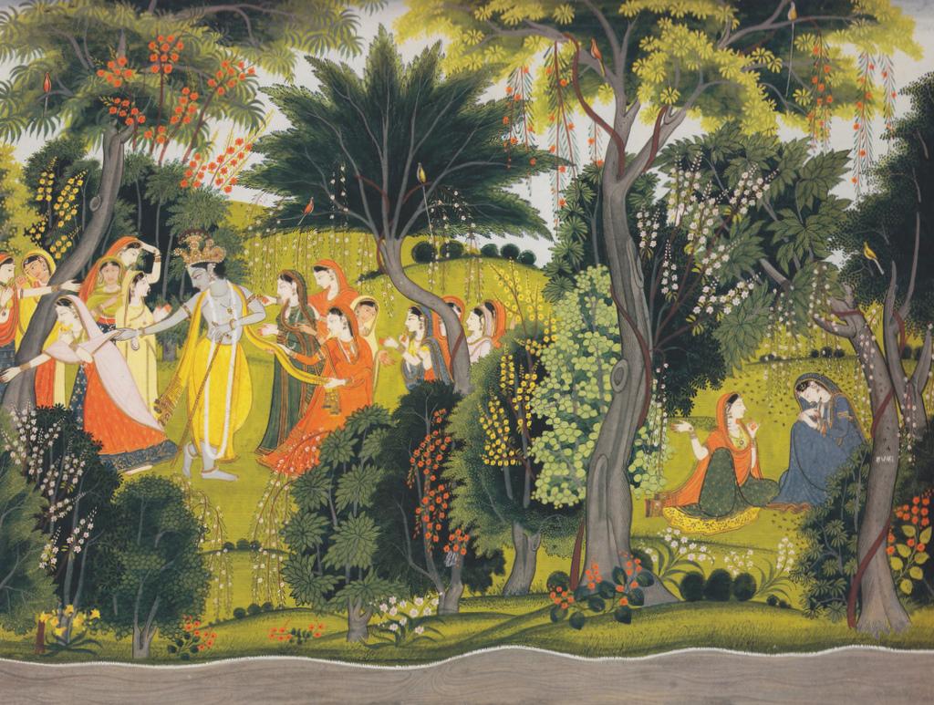 Nickyskye Meanderings: Pahari Paintings From The Himalayan