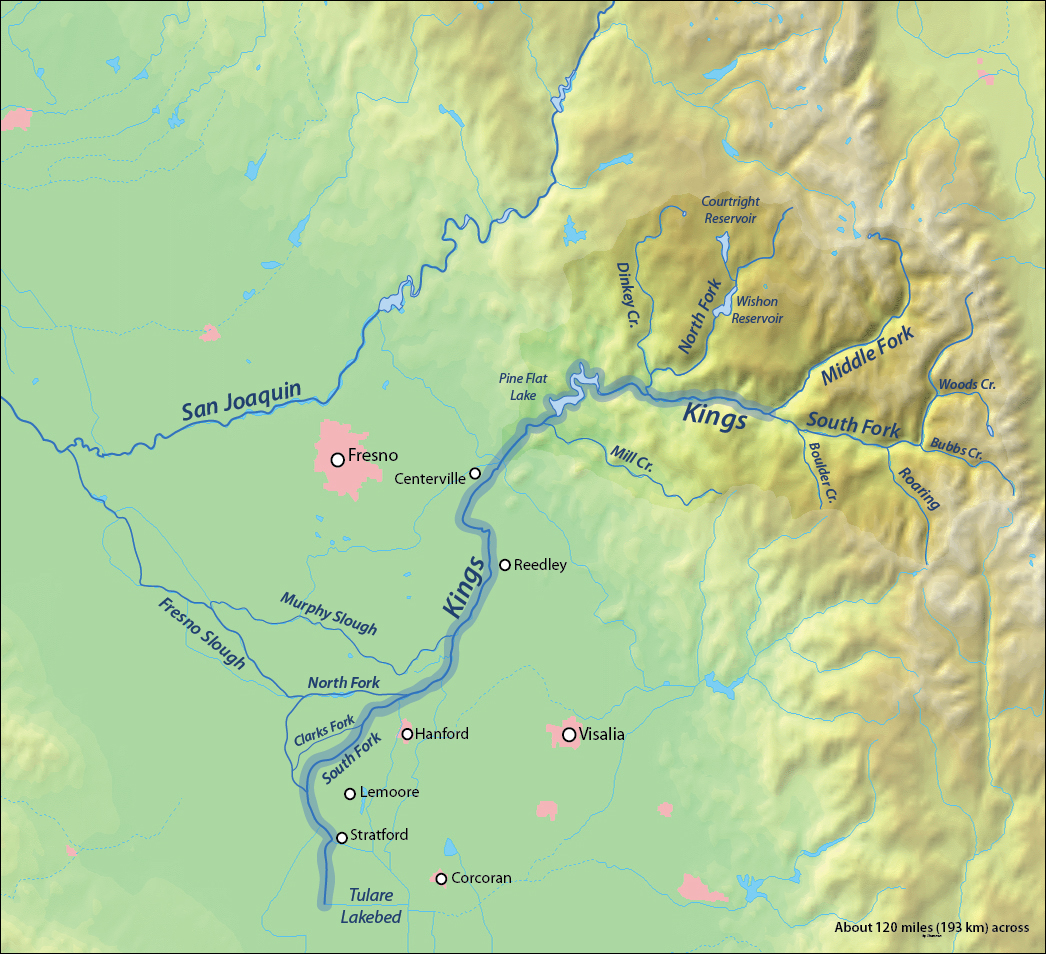 File Kings River Map Jpg Wikimedia Commons