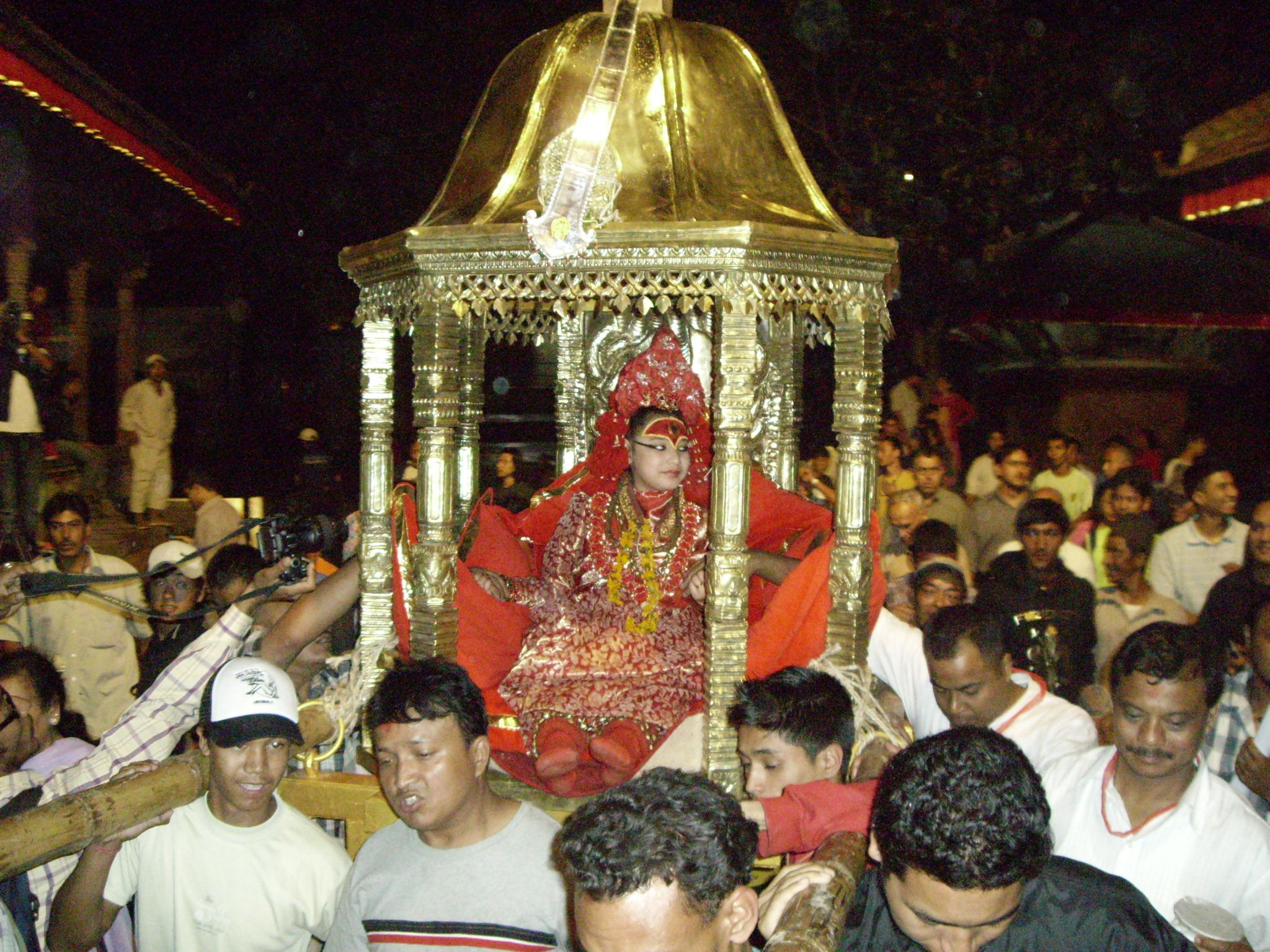 Kumari goddess (Source: Wikipedia)