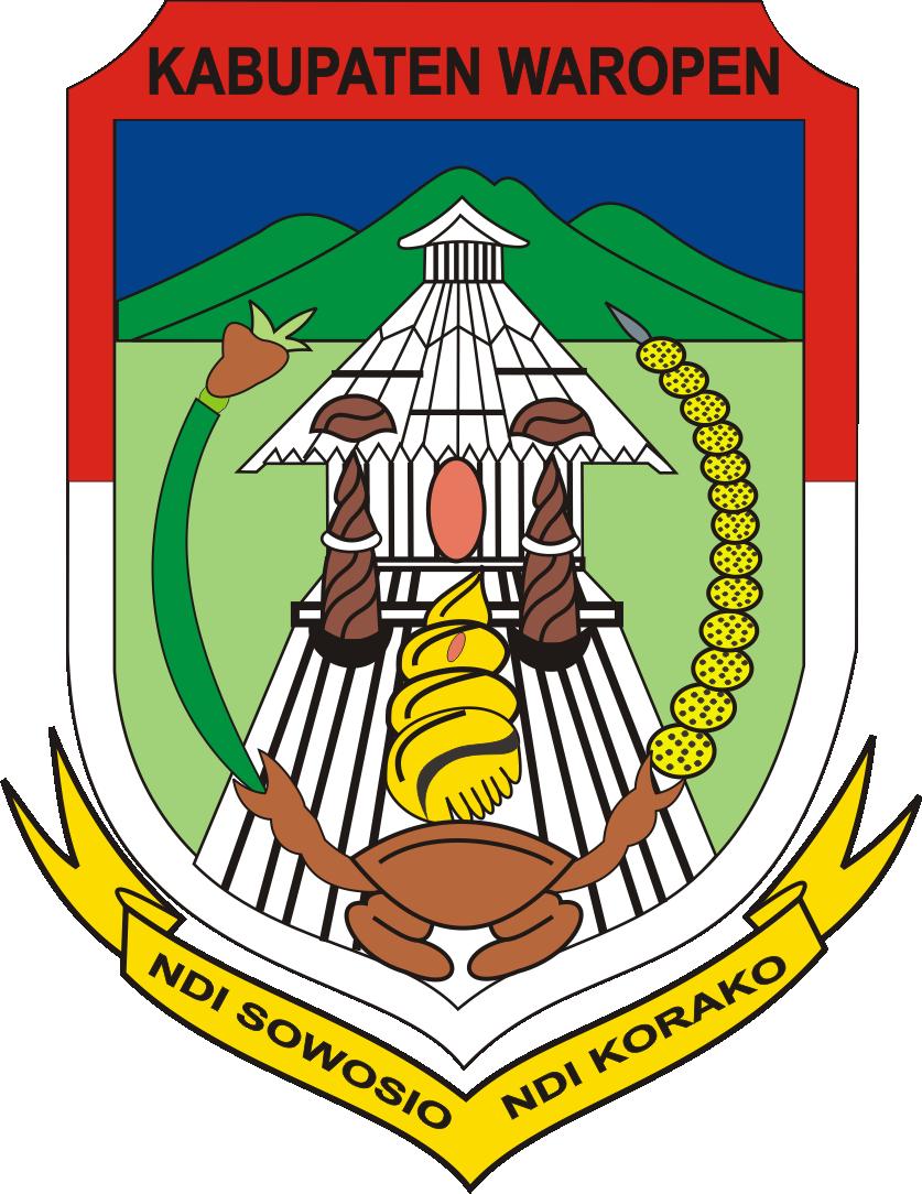Berkas Lambang Kabupaten Waropen Papua Jpg Wikipedia Bahasa Indonesia Ensiklopedia Bebas