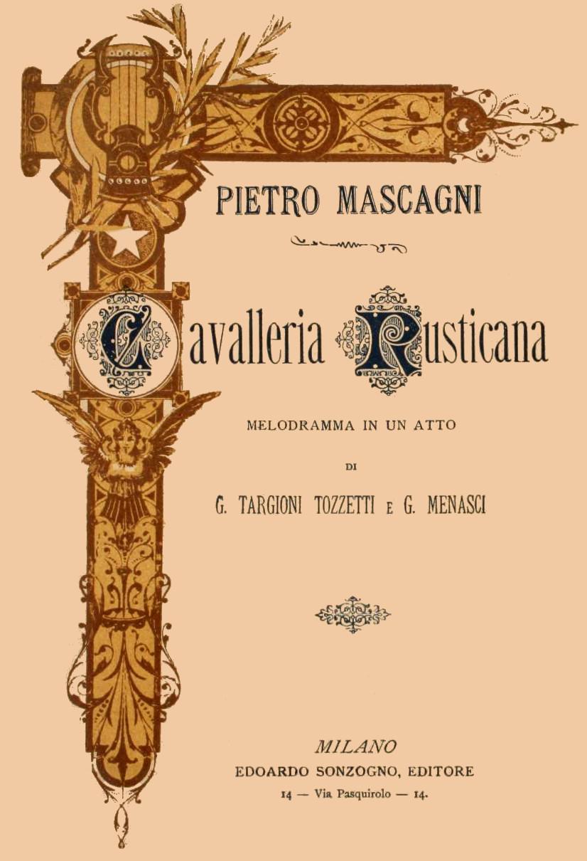 Cavalleria rusticana – Wikipedija