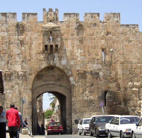 Lion Gate Jerusalem
