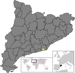 Castelldefels – Mappa