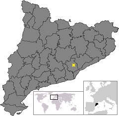 Location of Sabadell