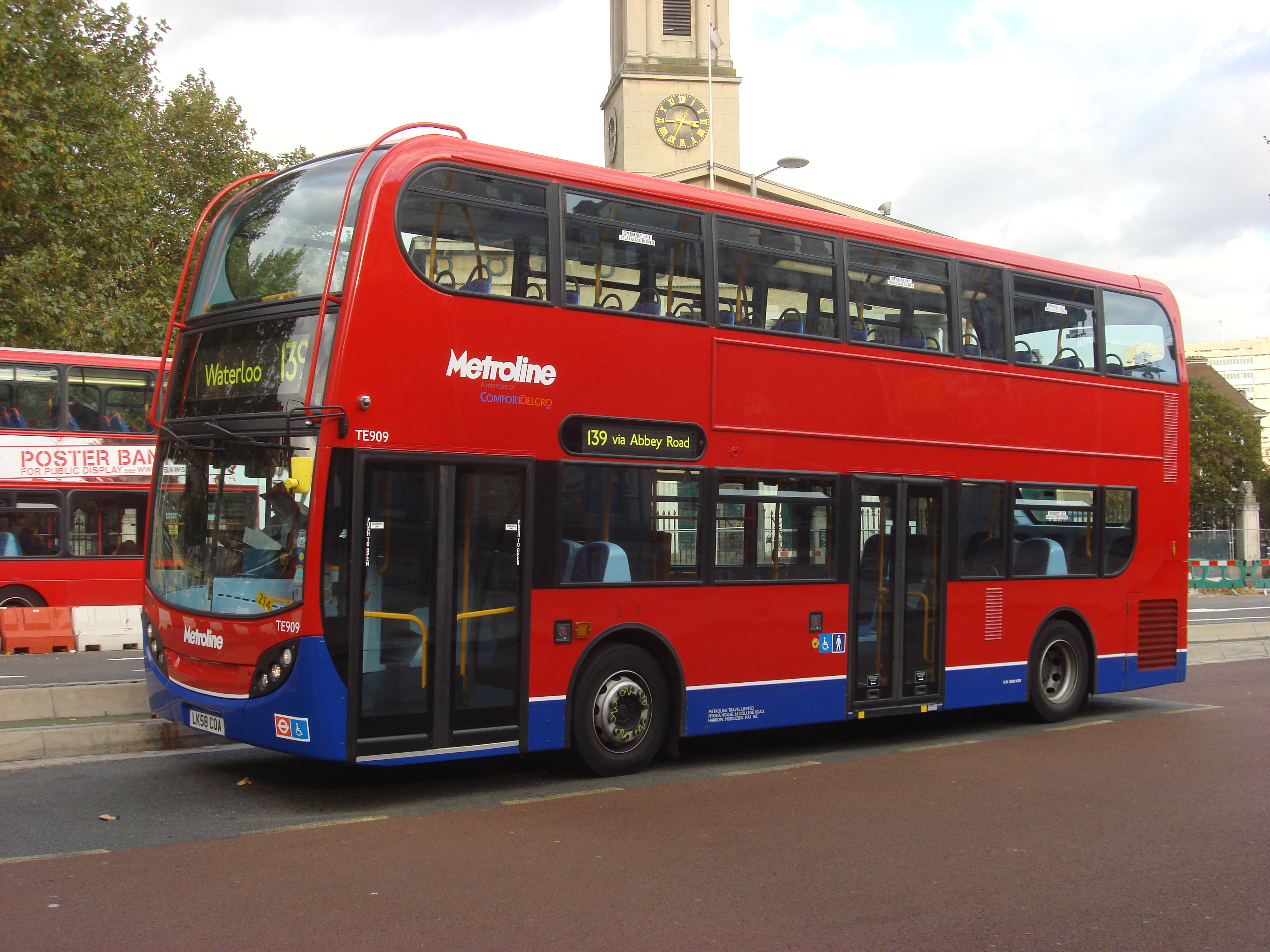 Аутобуси London_Bus_route_139_A