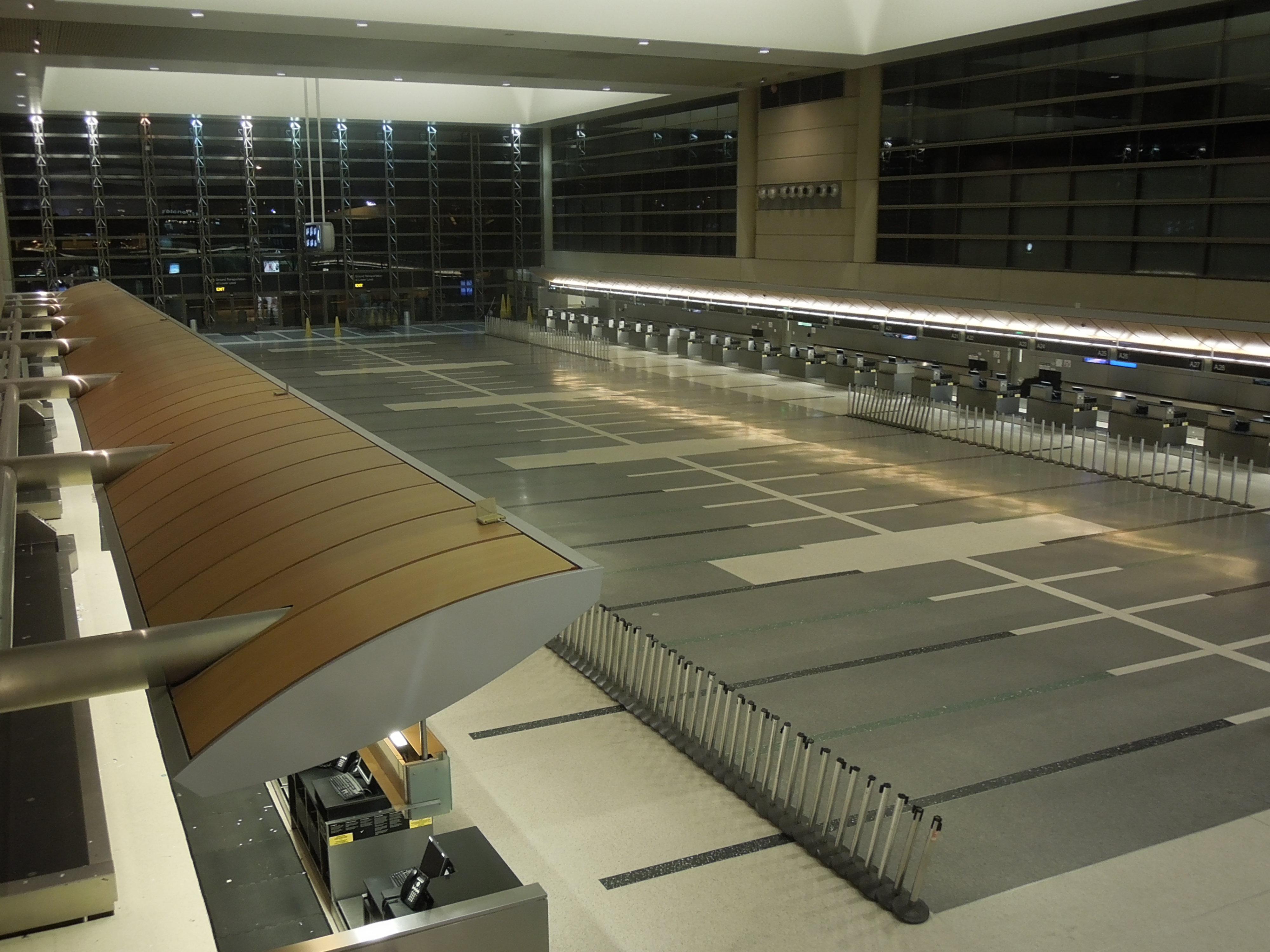 File Los Angeles International Airport Empty International Terminal 1 JPG