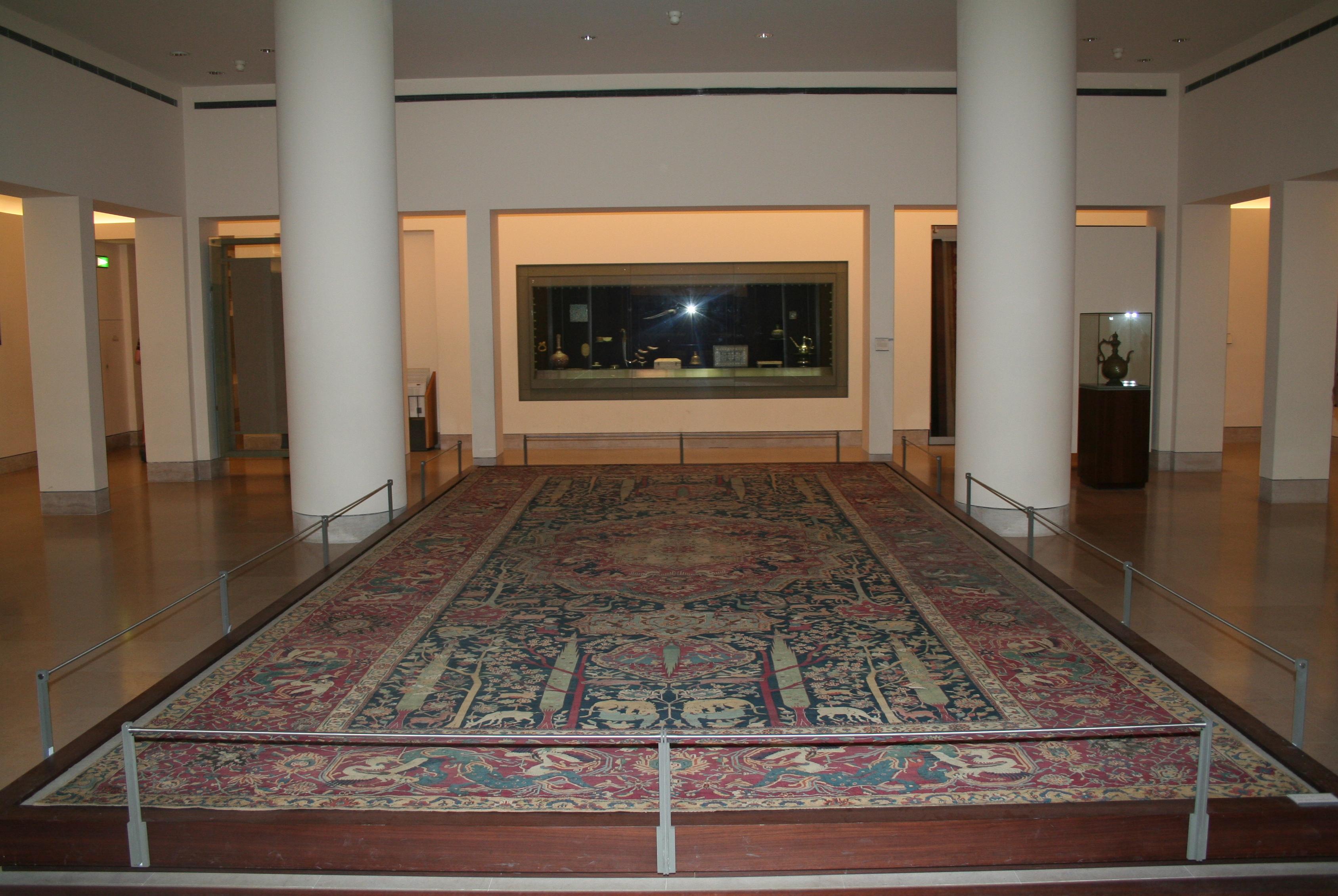 filelouvre tapis dcor de jardin de paradis dit tapis de mantes