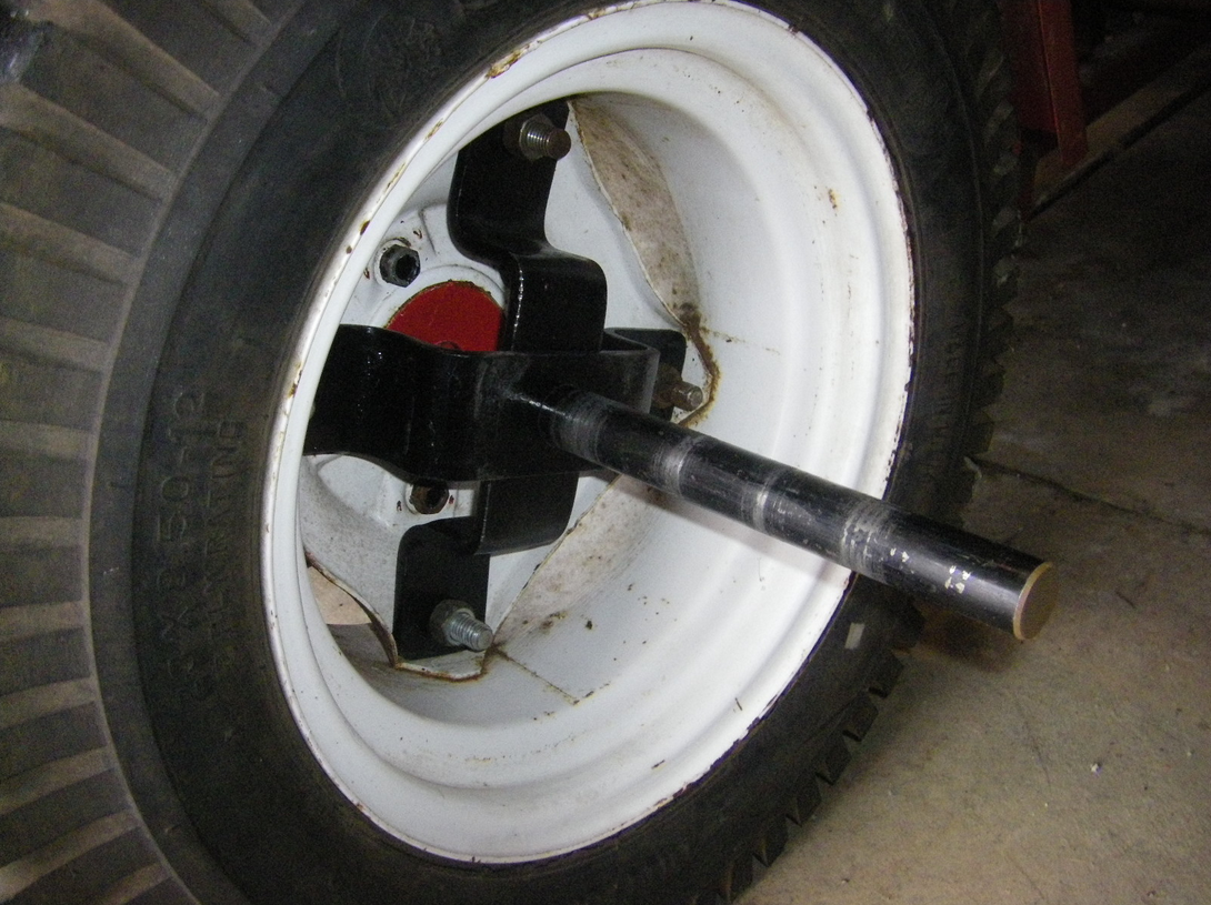 Homemade Wheel Weights : File lugghandles universal tractor wheel weight adapters