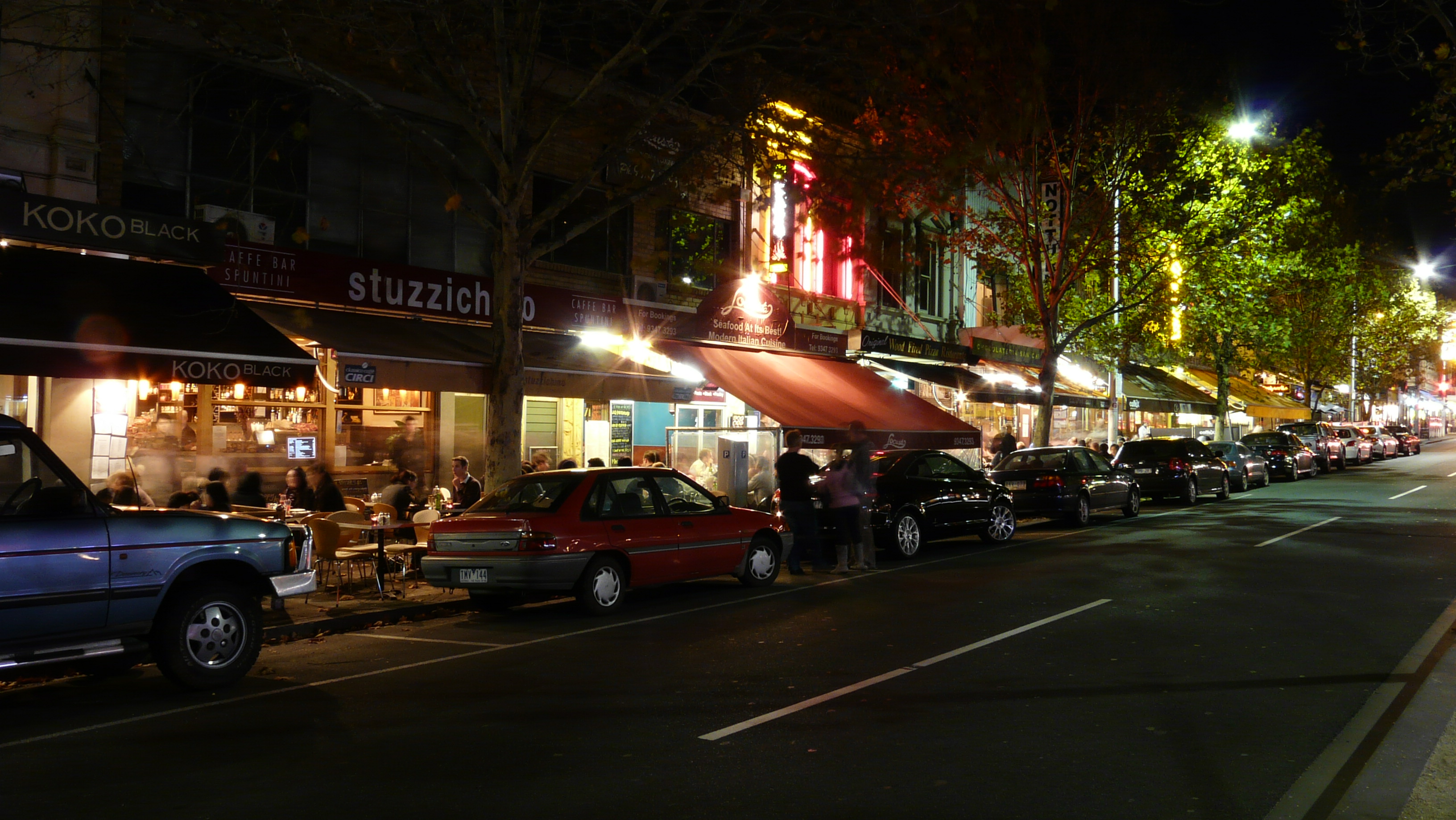 Front Cafe Lygon Street