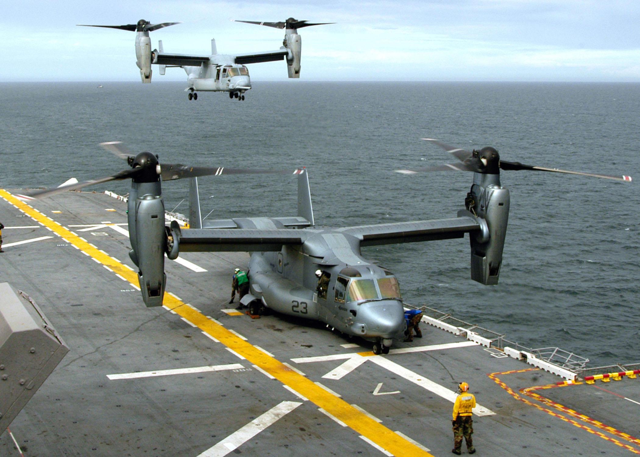 File:MV-22Bs on USS Wasp.jpg - Wikimedia Commons