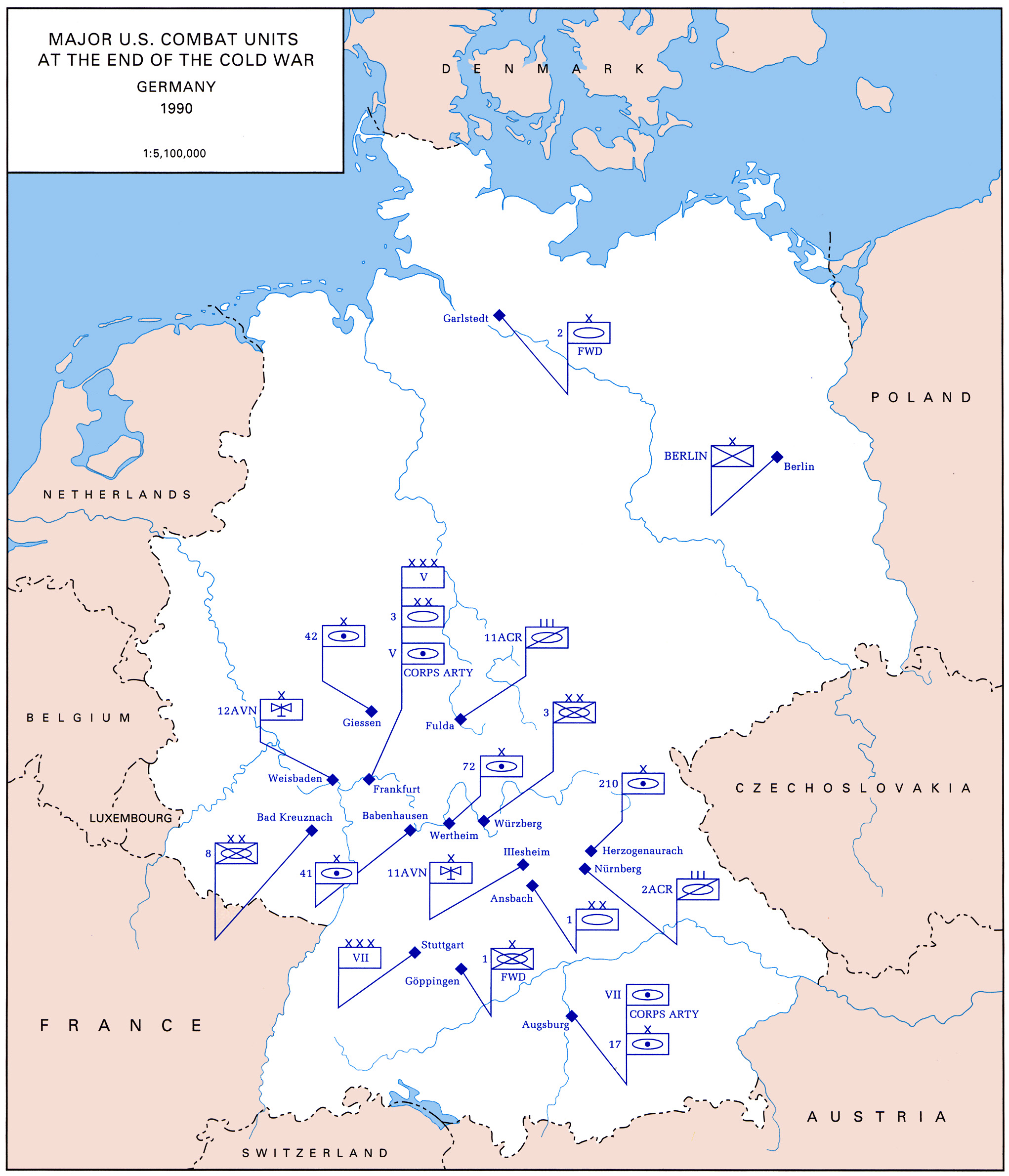 File Major U S Combat Units At The End Of The Cold War Germany