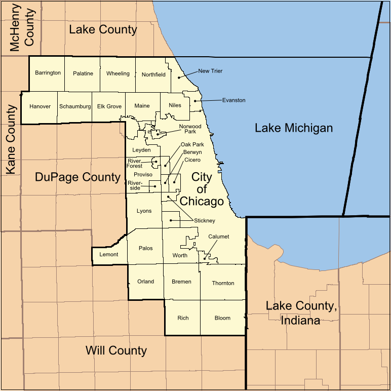 Cook County Map File:Map of Cook County Illinois showing townships.png   Wikimedia  Cook County Map