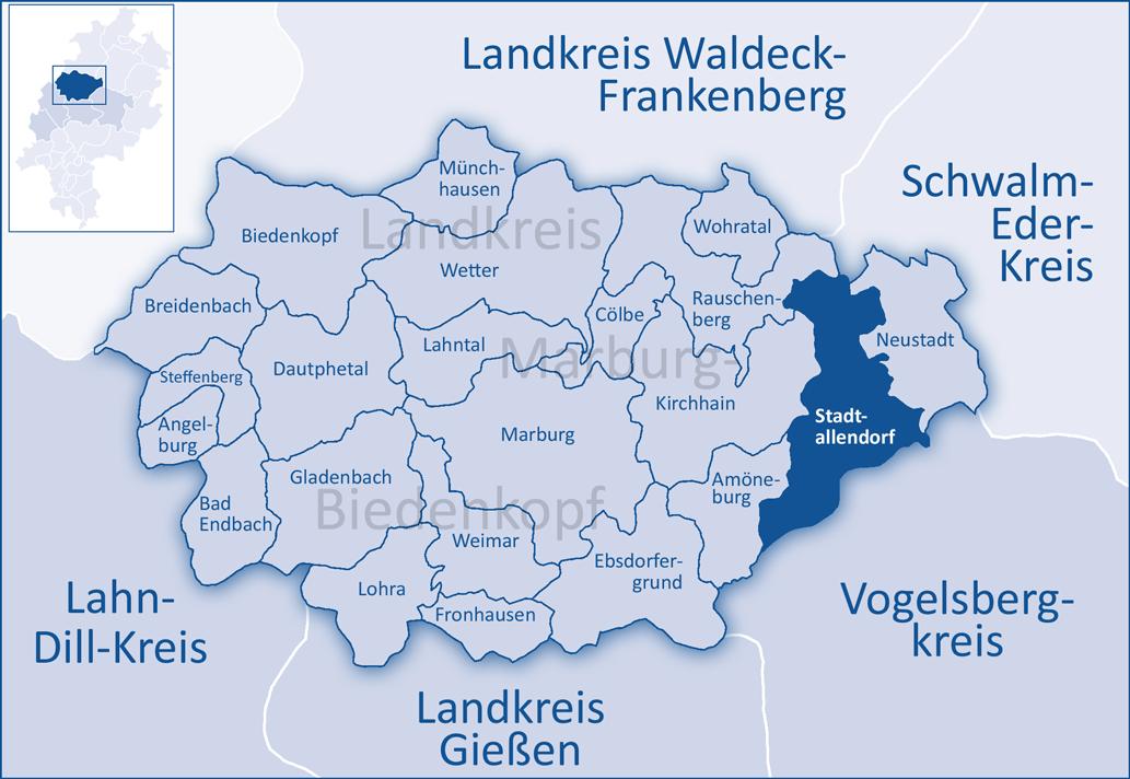 Corona Landkreis Marburg
