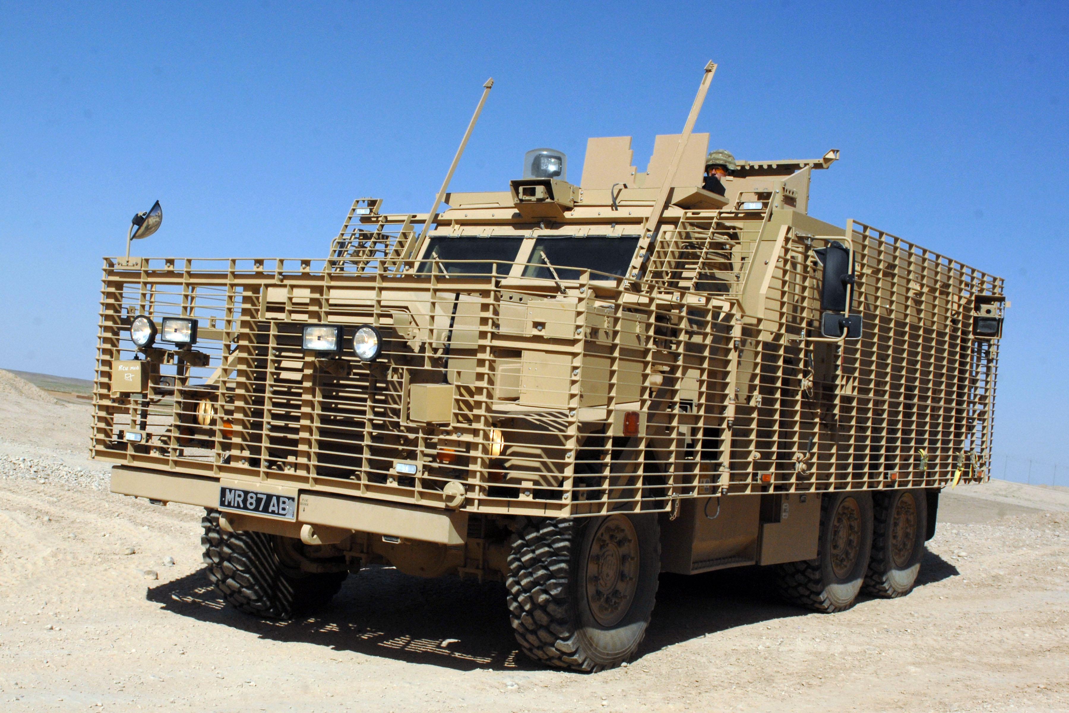 Mastiff 2 (AFV) - Armored Vehicles | Armored Vehicles
