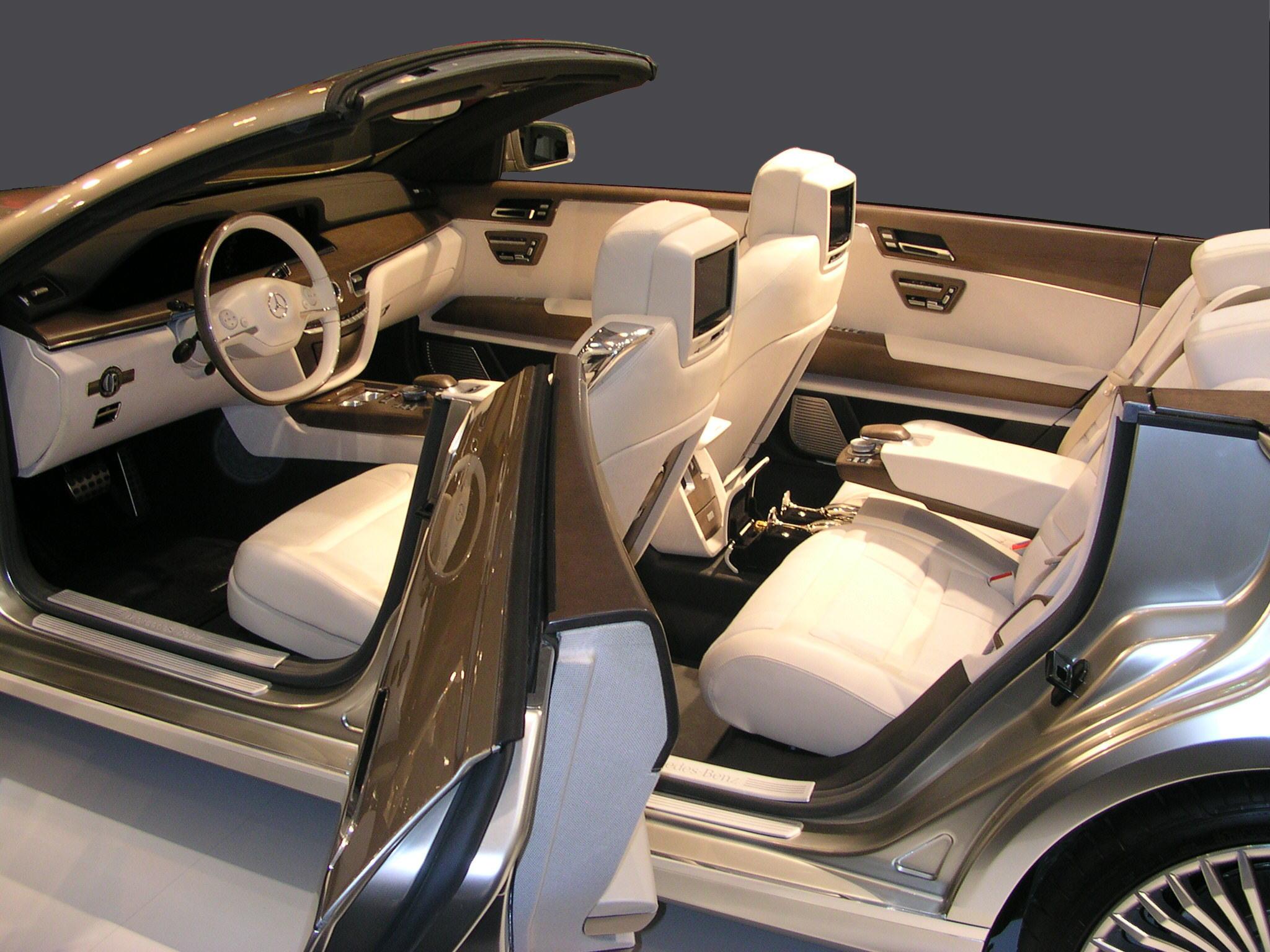 Interior MercedesBenz Ocean Drive Concept