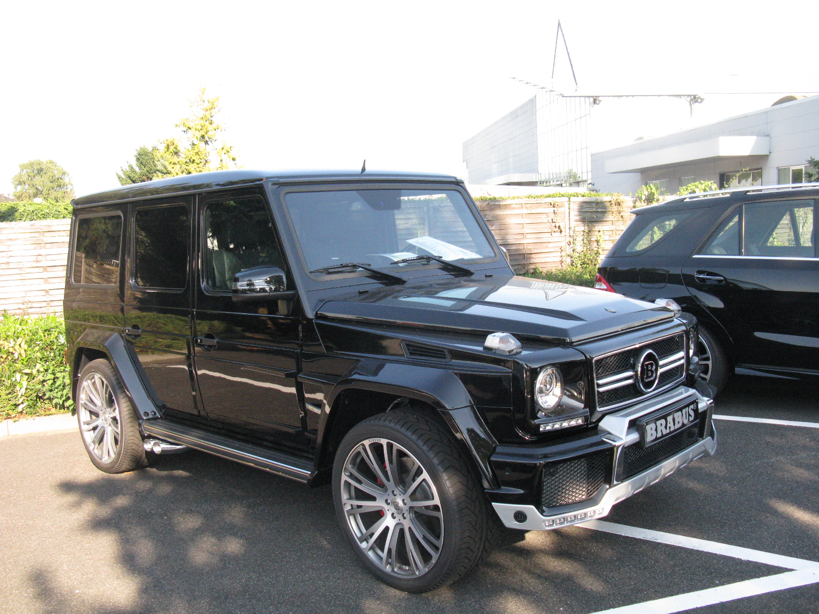 mercedes benz g63 brabus - photo #7